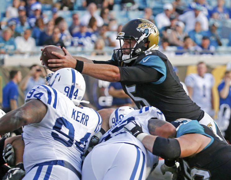 Blake Bortles wants to build on a solid 2015 season (AP)