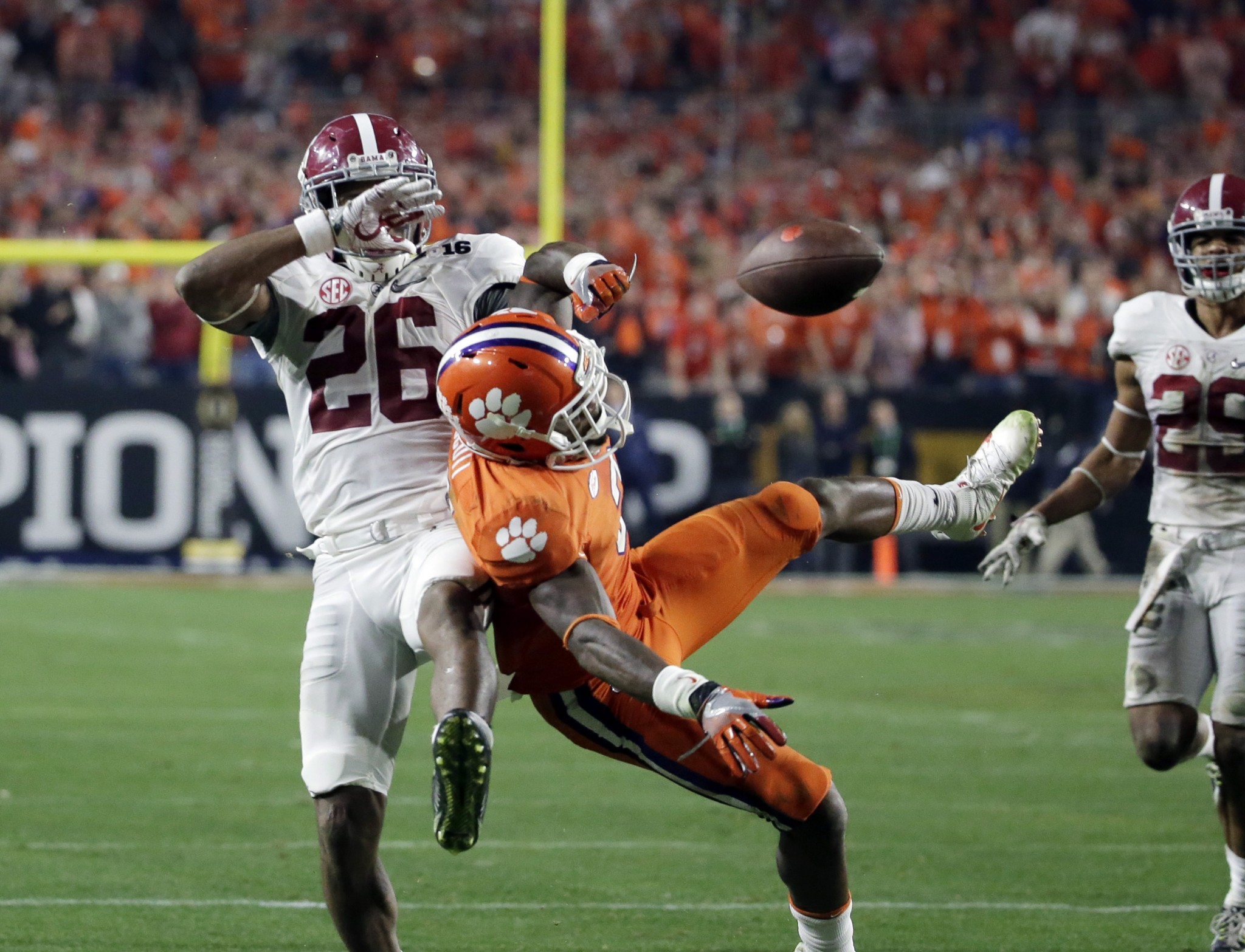 Alabama CB Marlon Humphrey. (AP Photo/Chris Carlson)