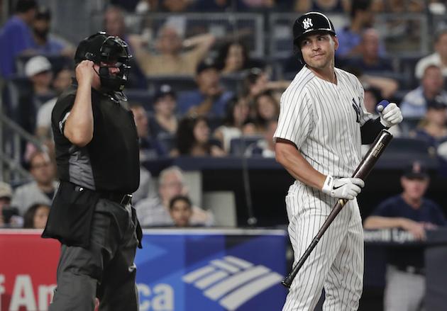 New York Yankees' Jacoby Ellsbury (AP Photo/Julie Jacobson)