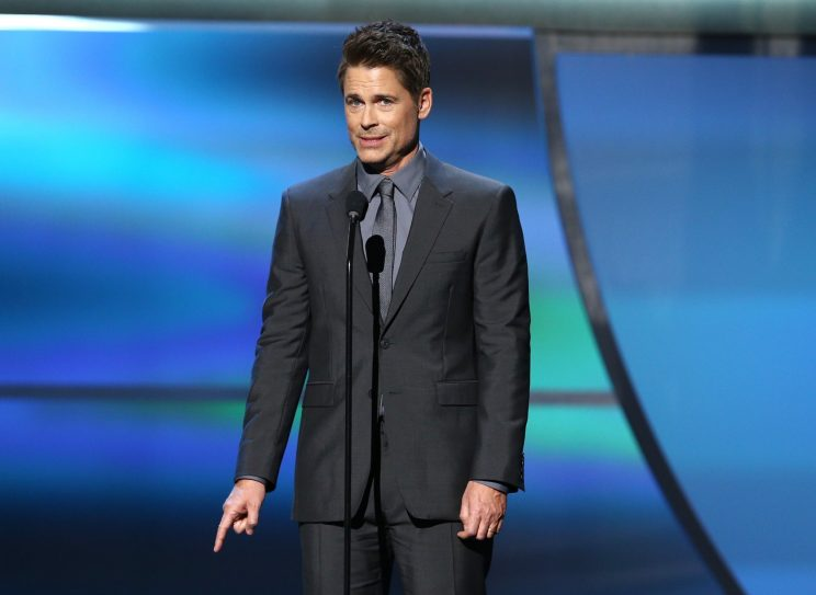 Rob Lowe literally thinks it's time for the Rams to make a chan…