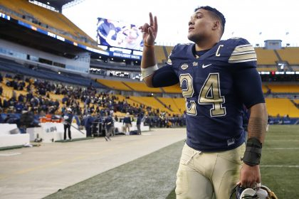 Just before Combine, Pitt RB James Conner gets assurances he's cancer-free