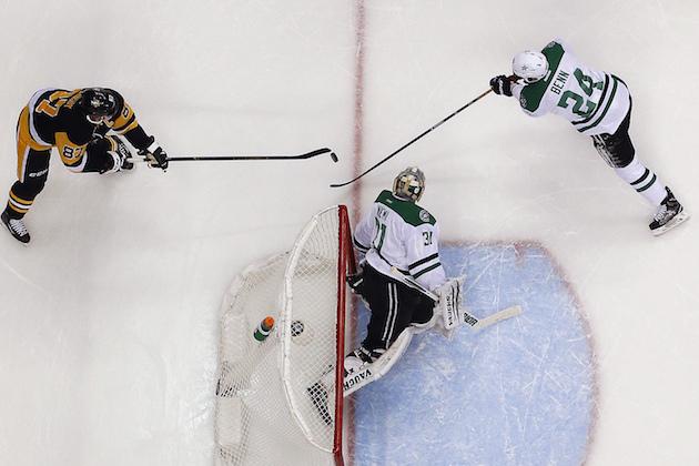 Sidney Crosby uses his mastery of the bank shot vs. Stars (Vide…