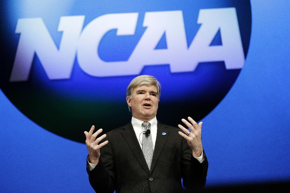NCAA president Mark Emmert. (AP)