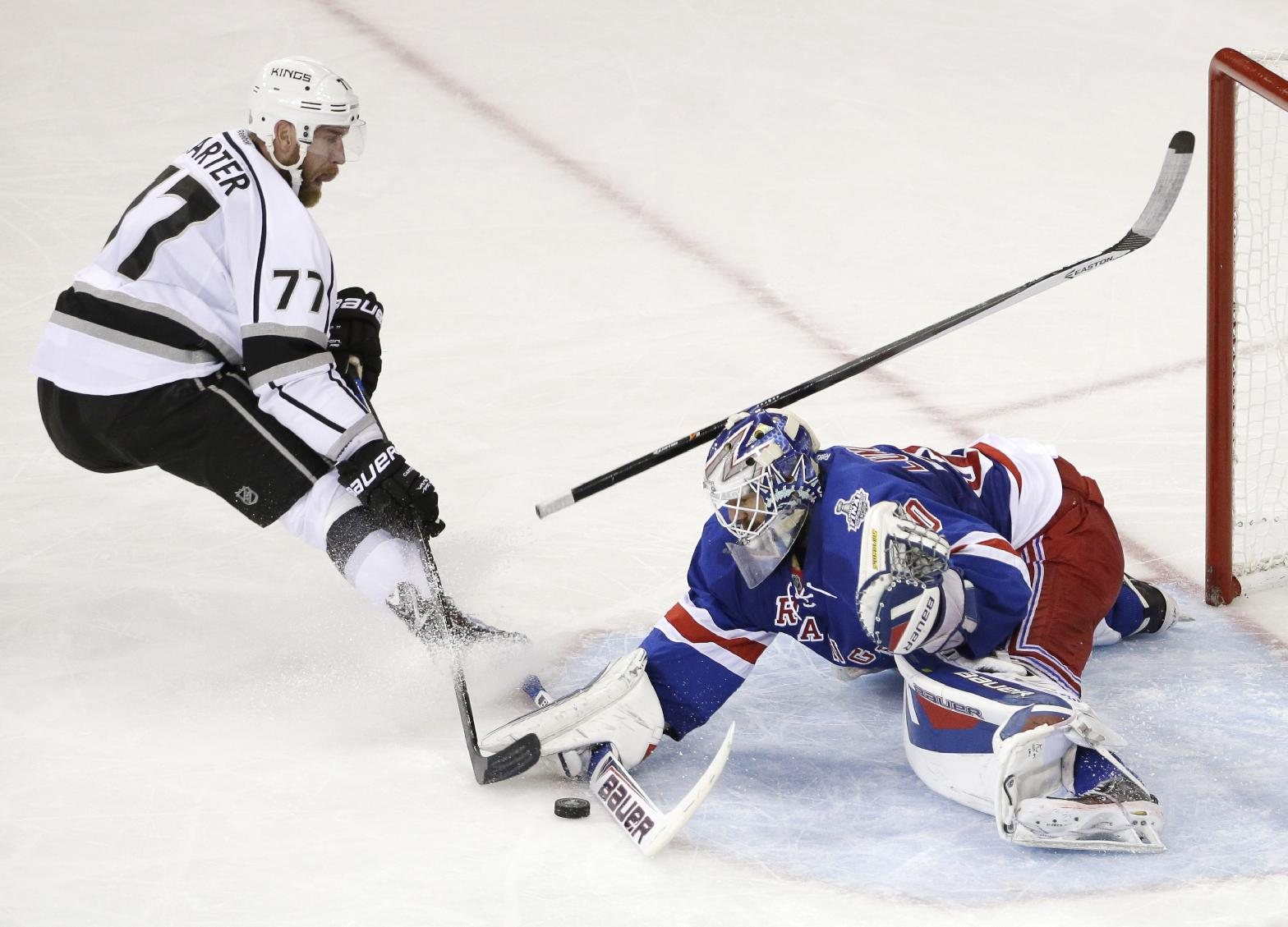 NY Rangers avoid sweep thanks to Lundqvist, top Kings in Game 4