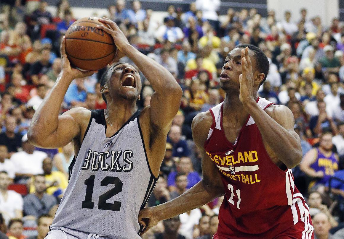 Parker and Wiggins, summer league stars, mid-draft fantasy picks (AP Photo/John Locher)