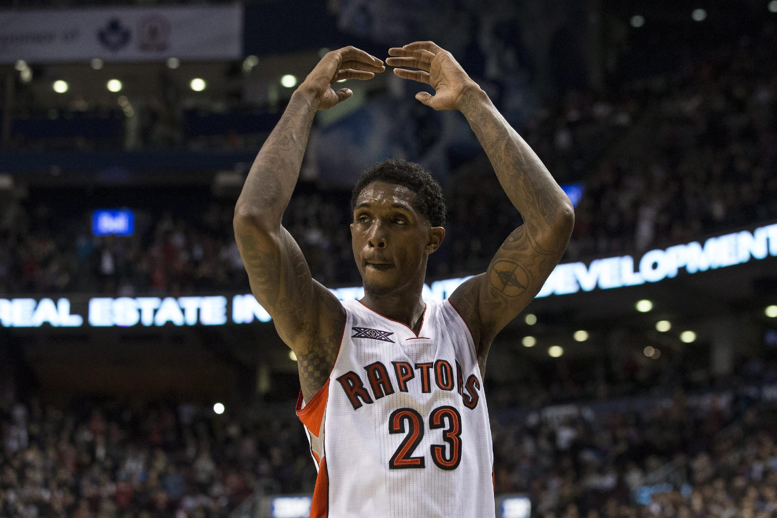 Raptors' Lou Williams wins 2014-15 NBA Sixth Man of the Year Aw…