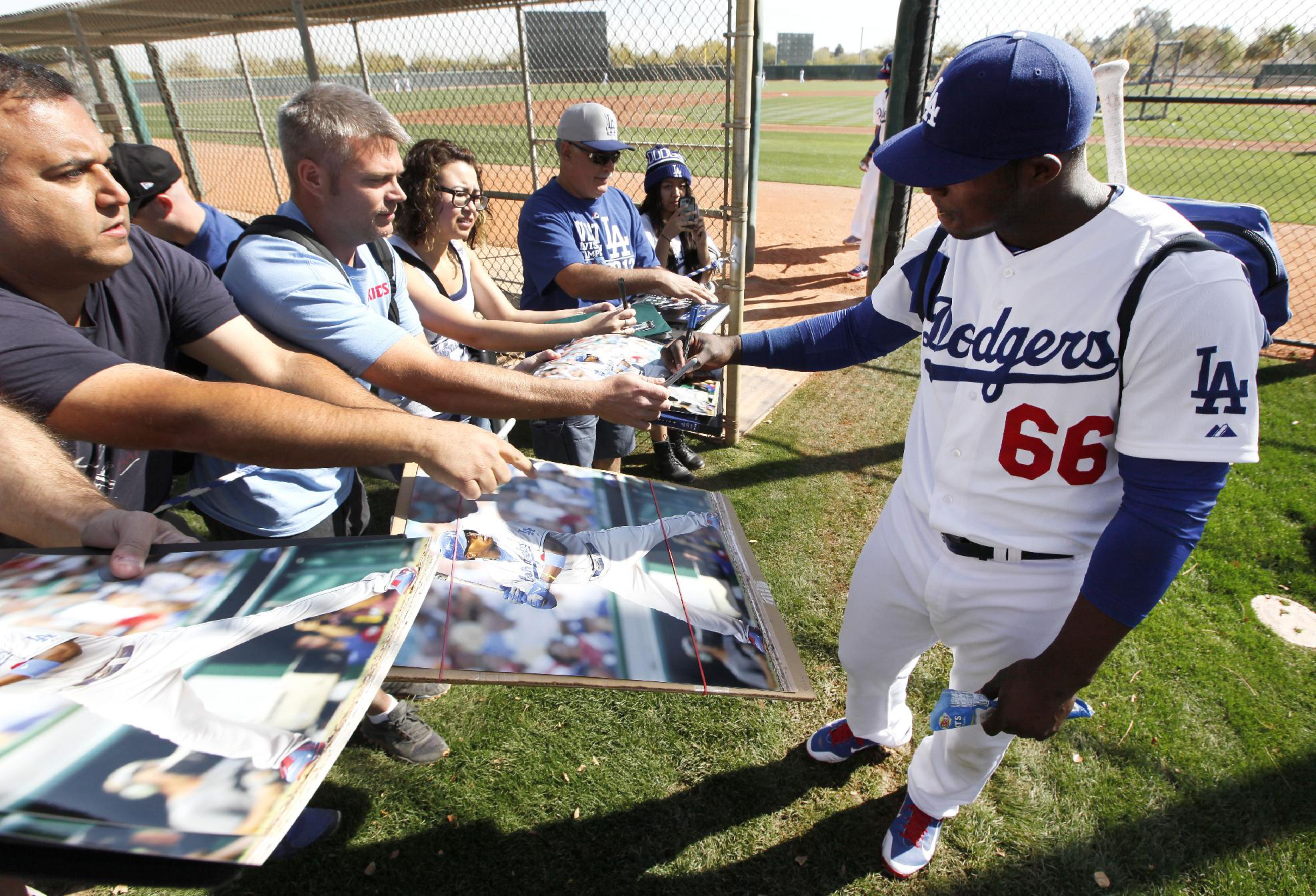 Yasiel Puig says he'll slow down in 2014, but the Dodgers shoul…