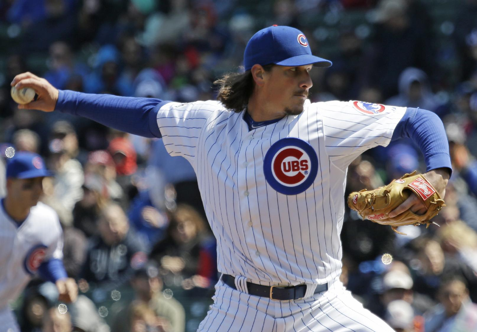Jeff Samardzija is one of MLB's best pitchers in 2014, but does…