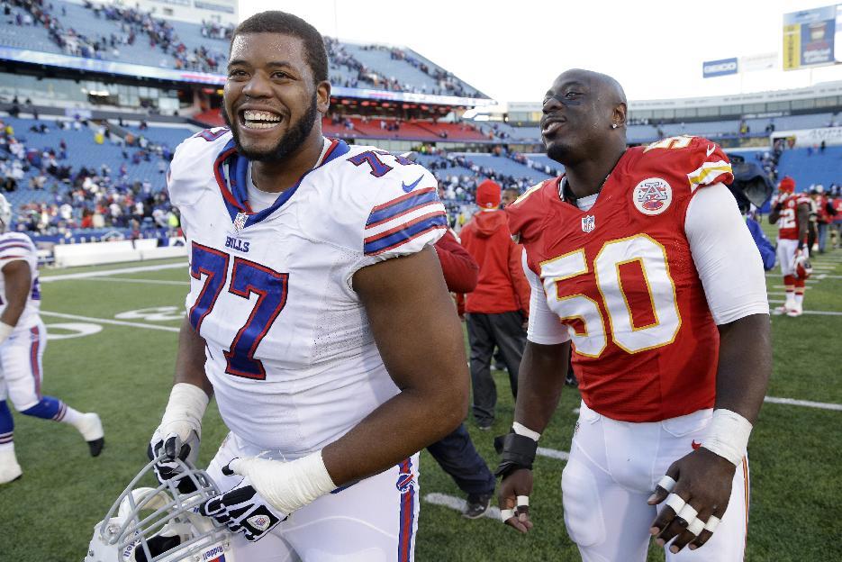 Bills make Cordy Glenn highest paid left tackle, per year, in N…