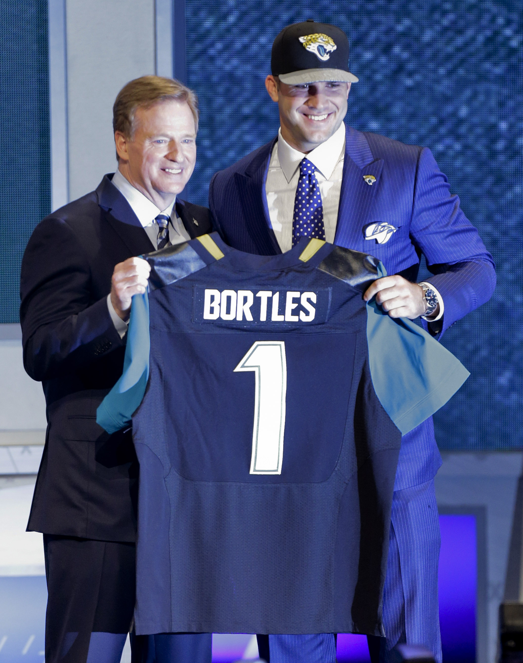 Jaguars use first-round pick on quarterback Blake Bortles, not …
