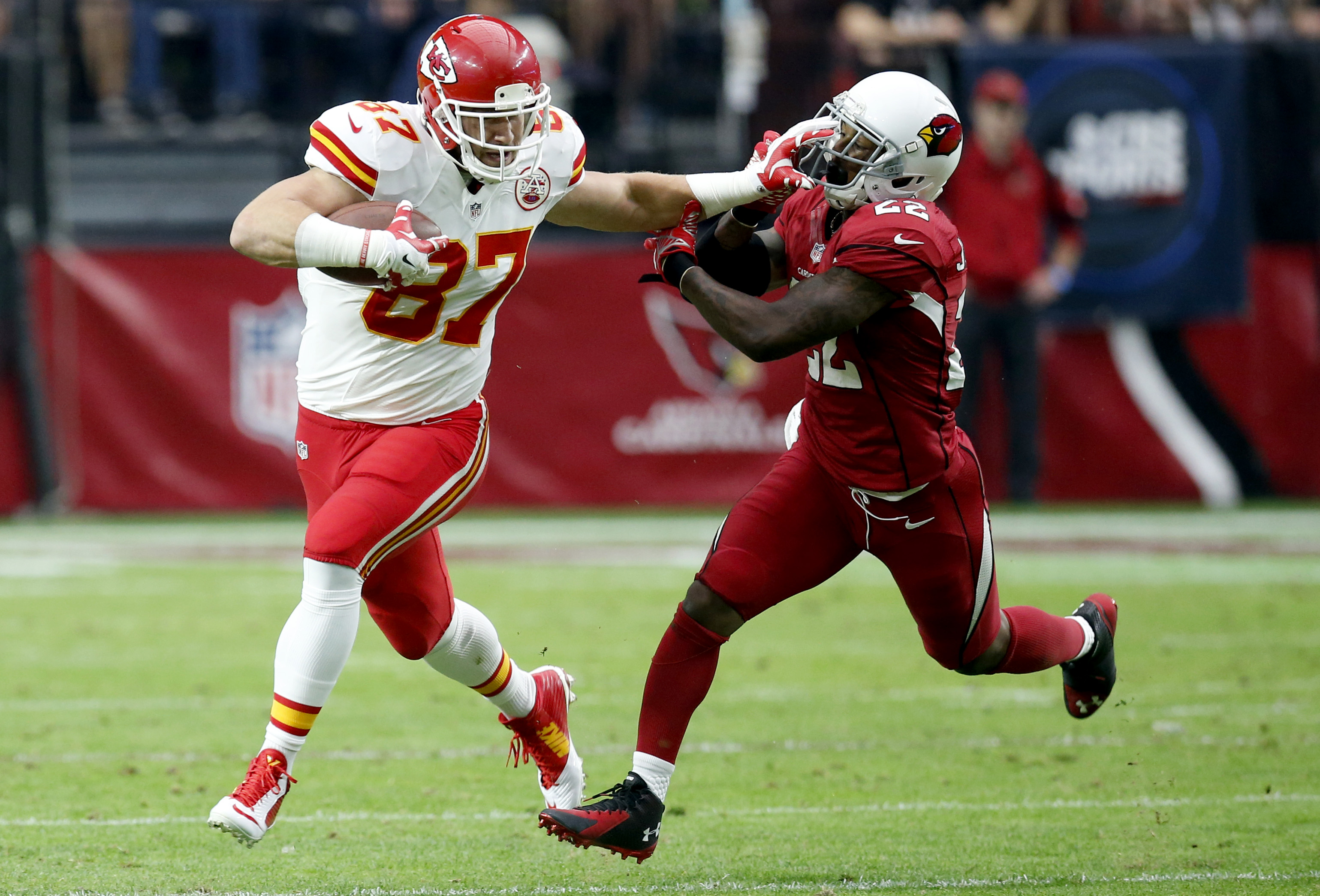 Release the Kelce (AP Photo/Ross D. Franklin)