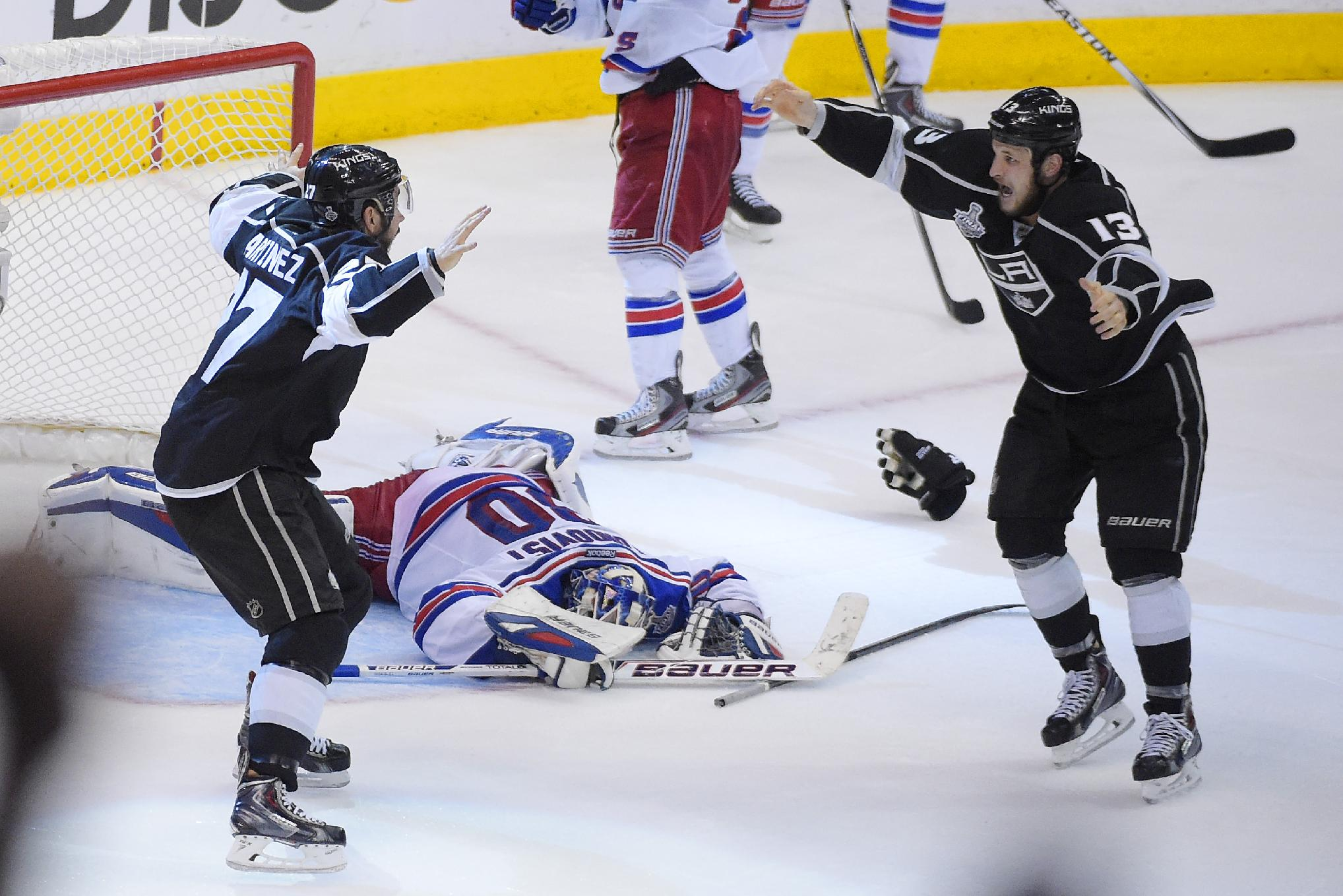 LA Kings win Stanley Cup in dramatic double OT victory over Ran…