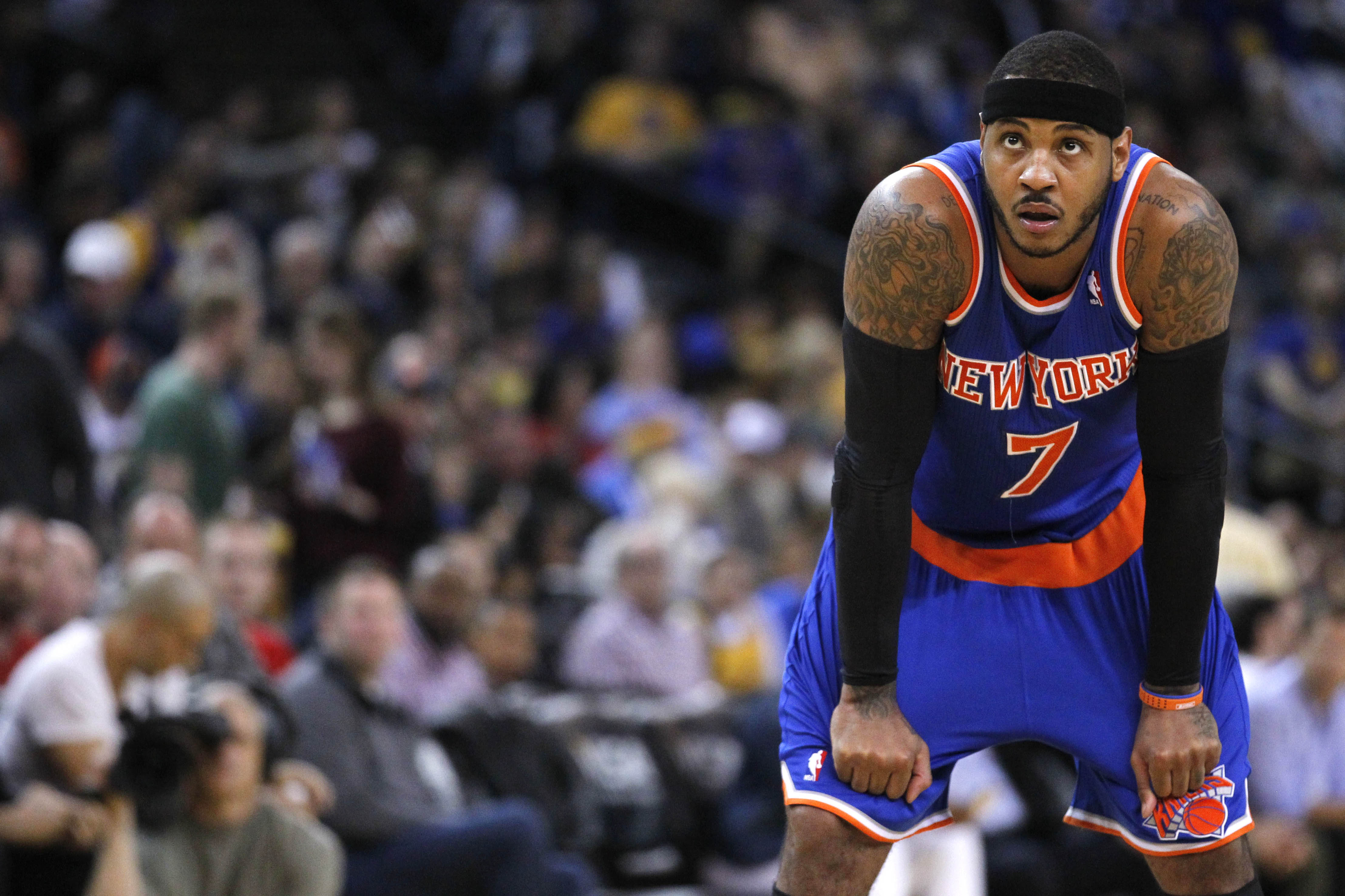 The 10-man rotation, starring the Knicks and Carmelo Anthony ge…
