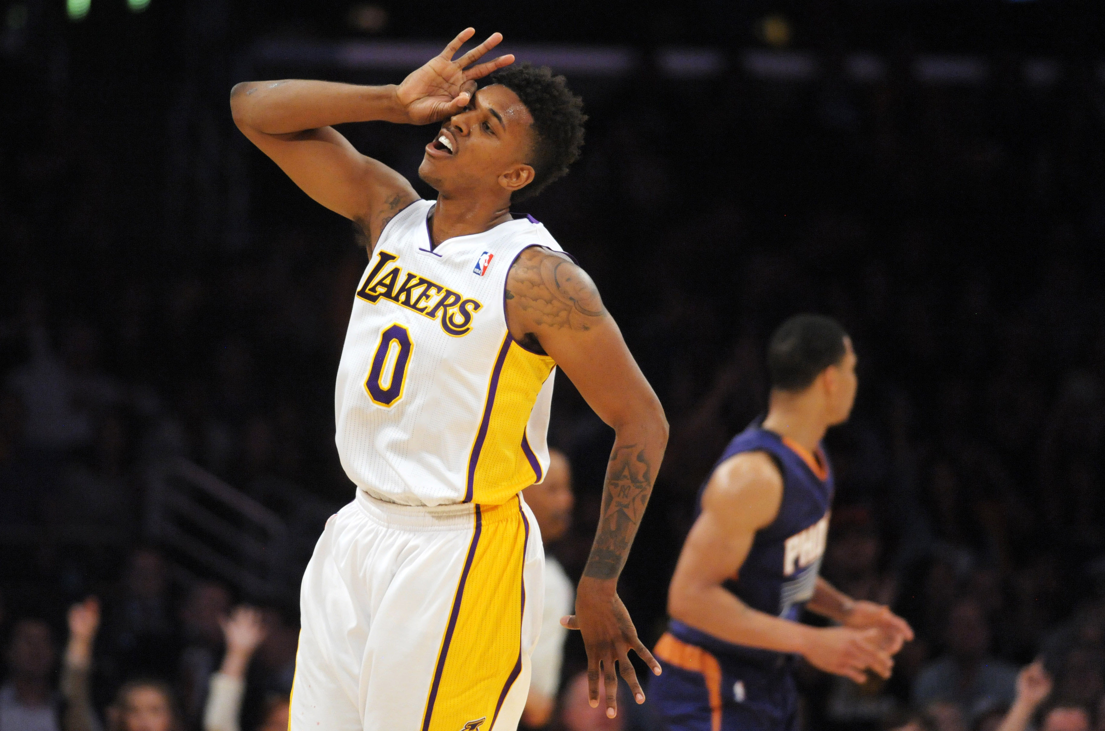 Nick Young on Lakers' possible playoff-tilting upset of Suns: '…