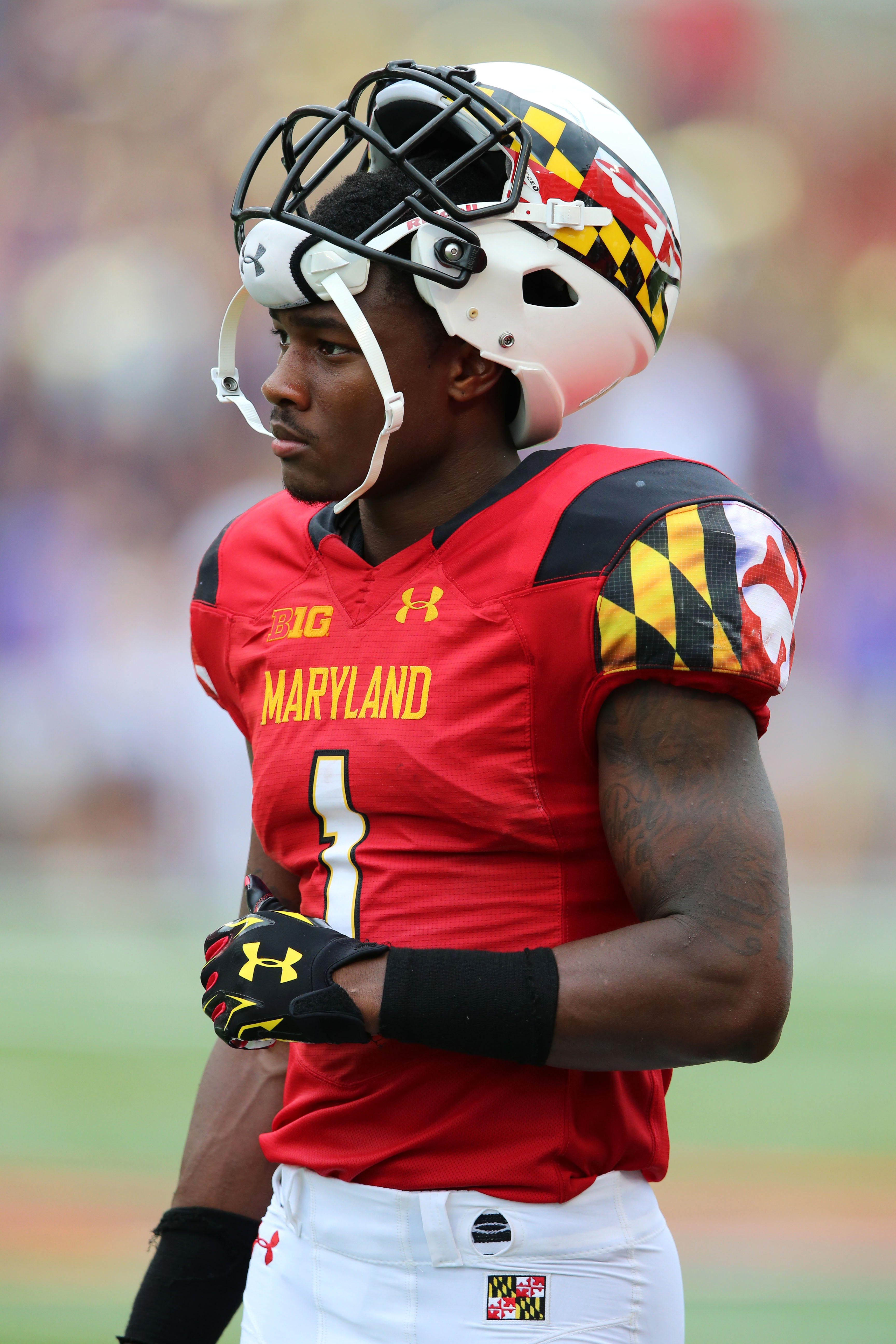 Report Maryland Wr Stefon Diggs Has Lacerated Kidney News Sport