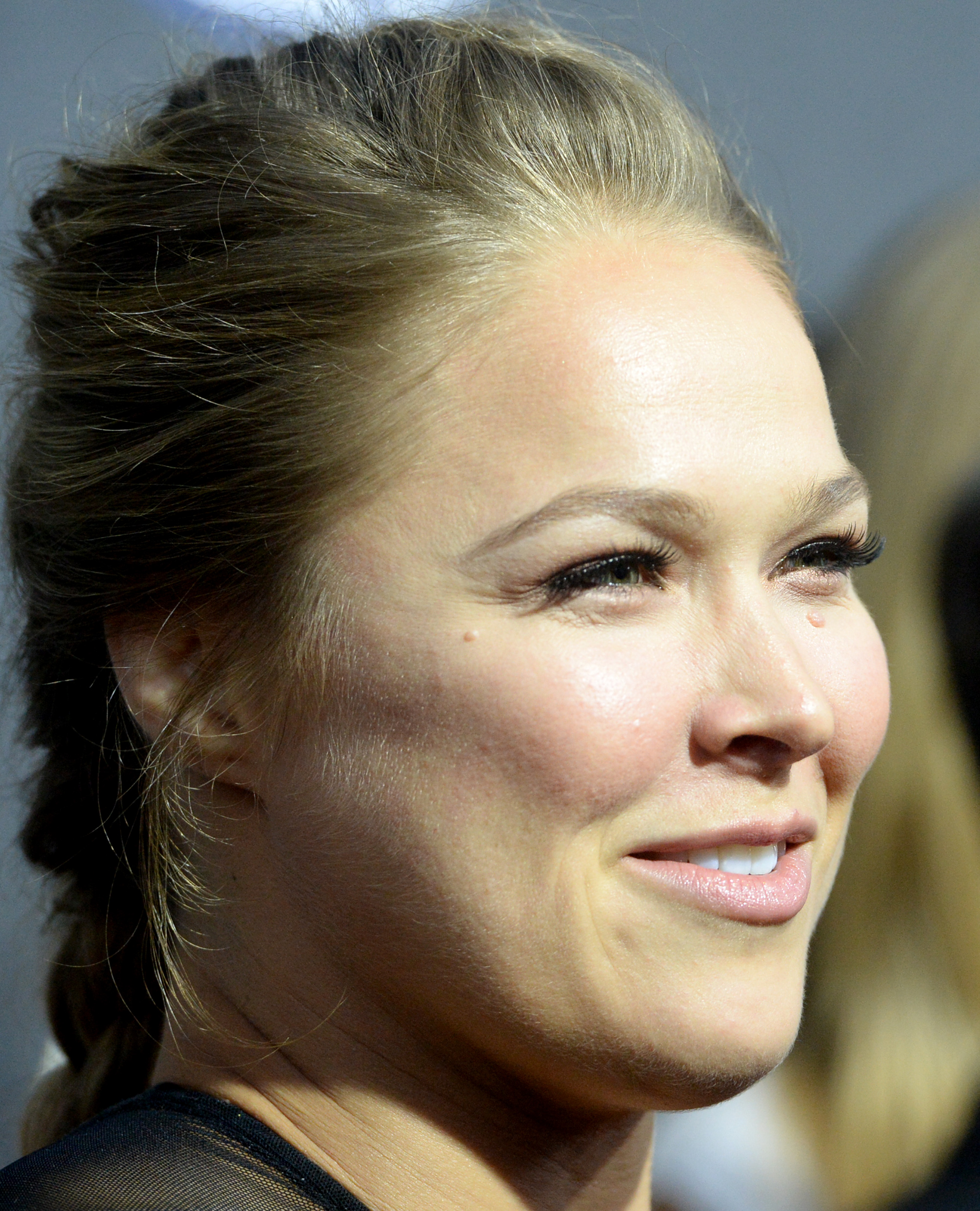 UFC women's bantamweight champion Ronda Rousey. (Jayne Kamin-Oncea-USA TODAY Sports)