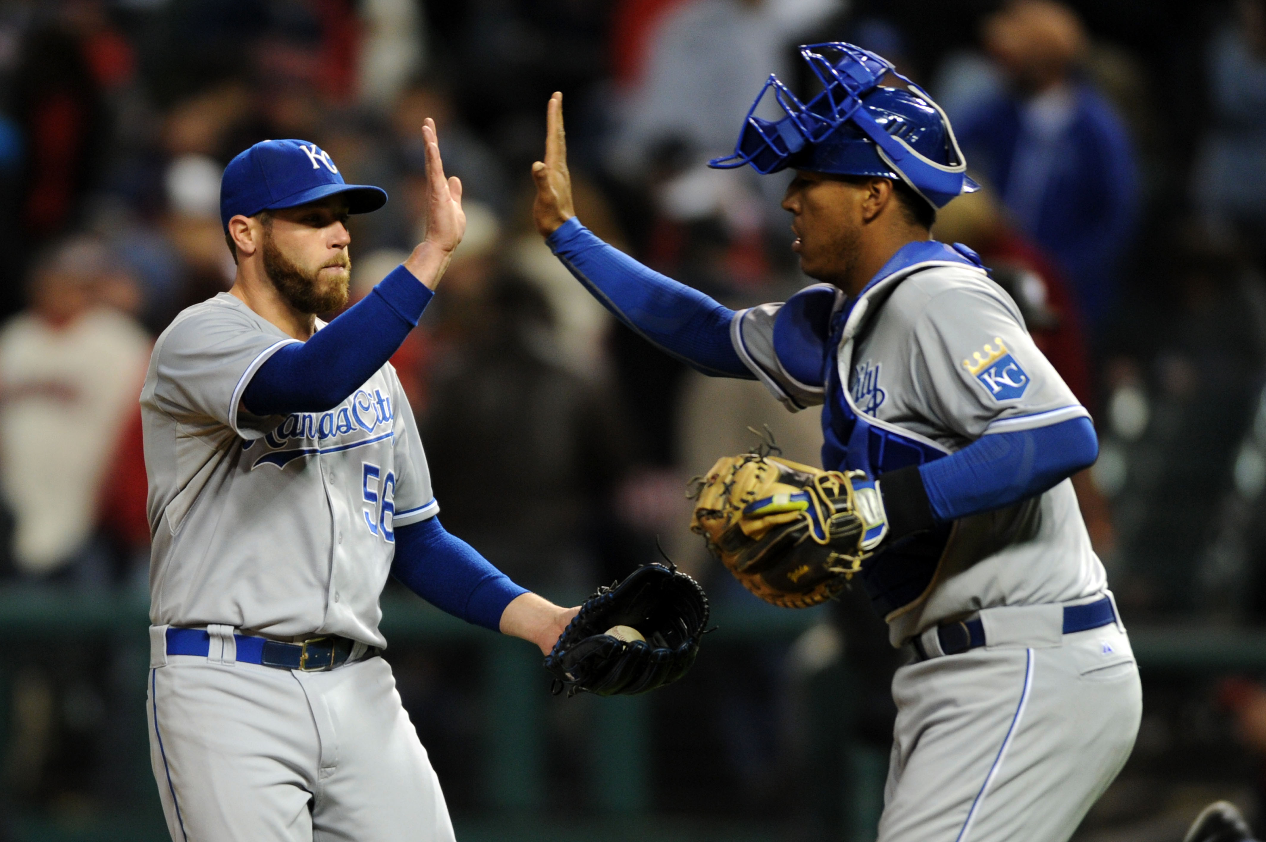 Royals closer Greg Holland is a big part of the team's success. (USA TODAY Sports)
