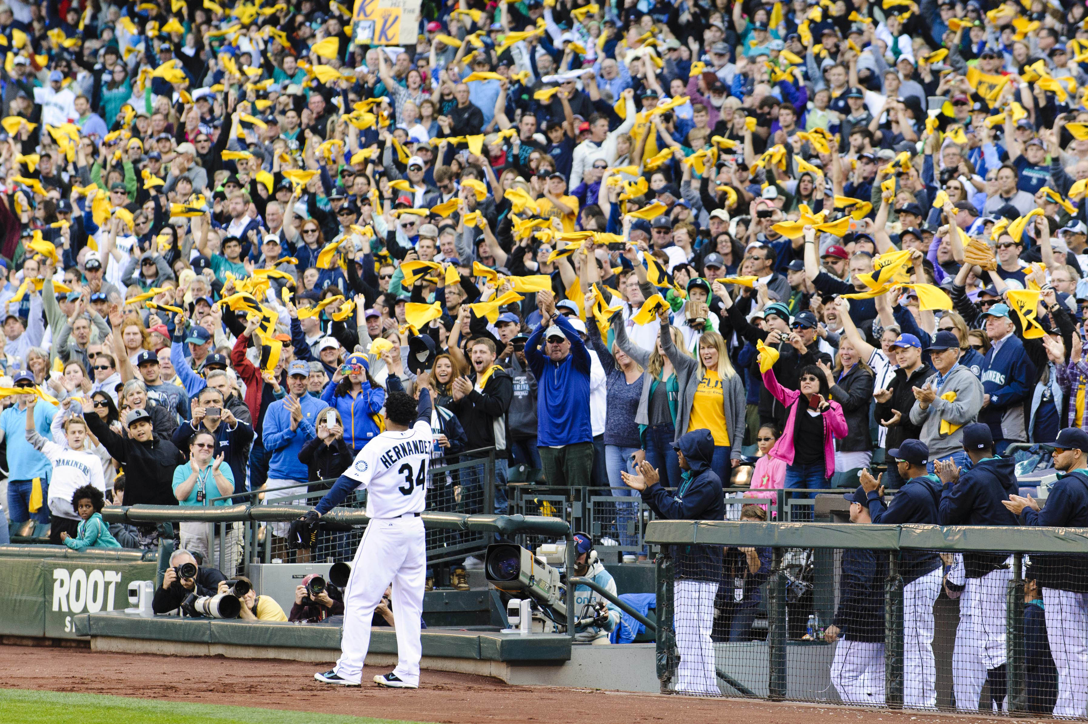The Mariners missed the playoffs, but they're still celebrating…
