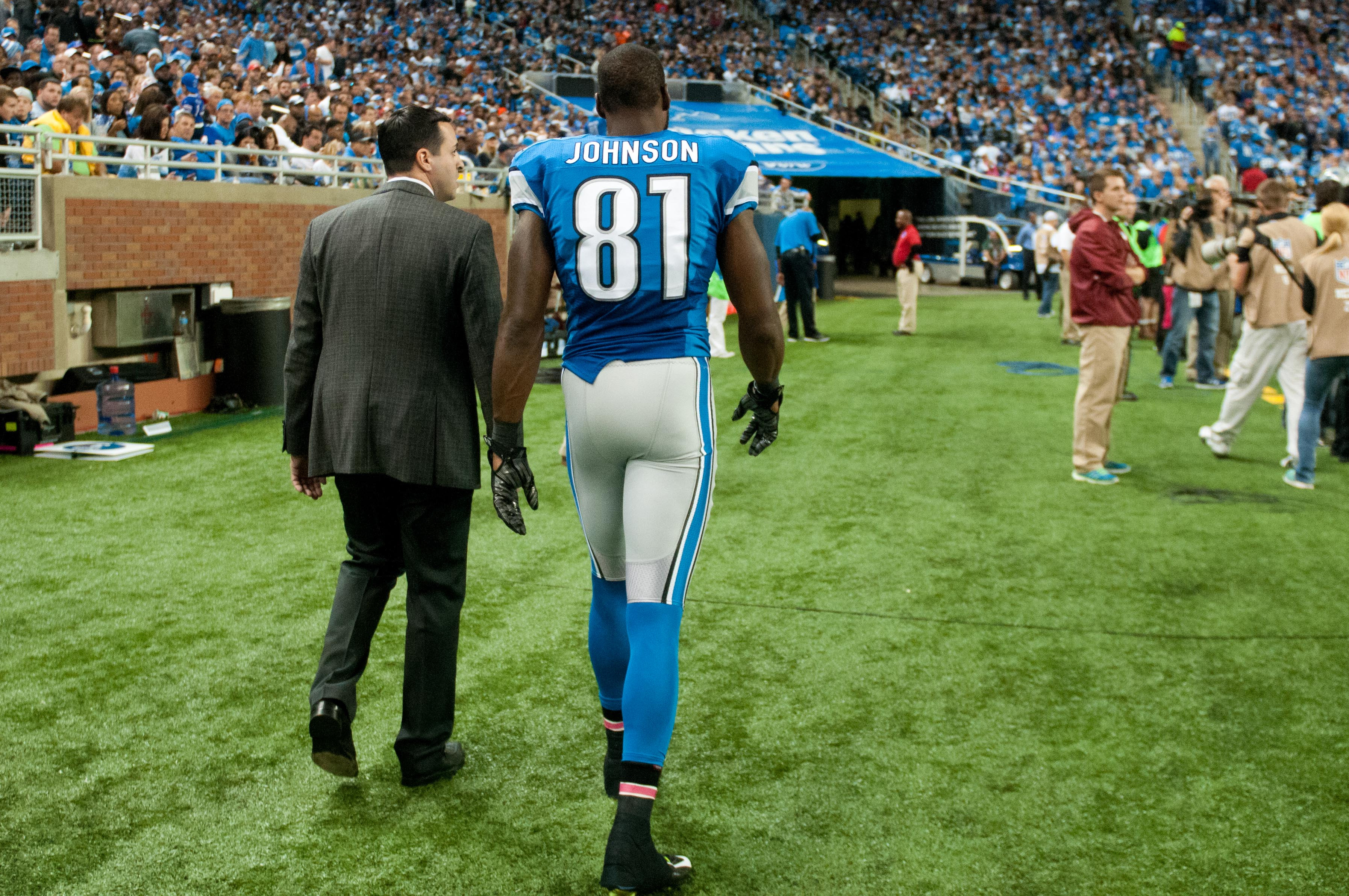 Tough day for Detroit (Tim Fuller-USA TODAY Sports)