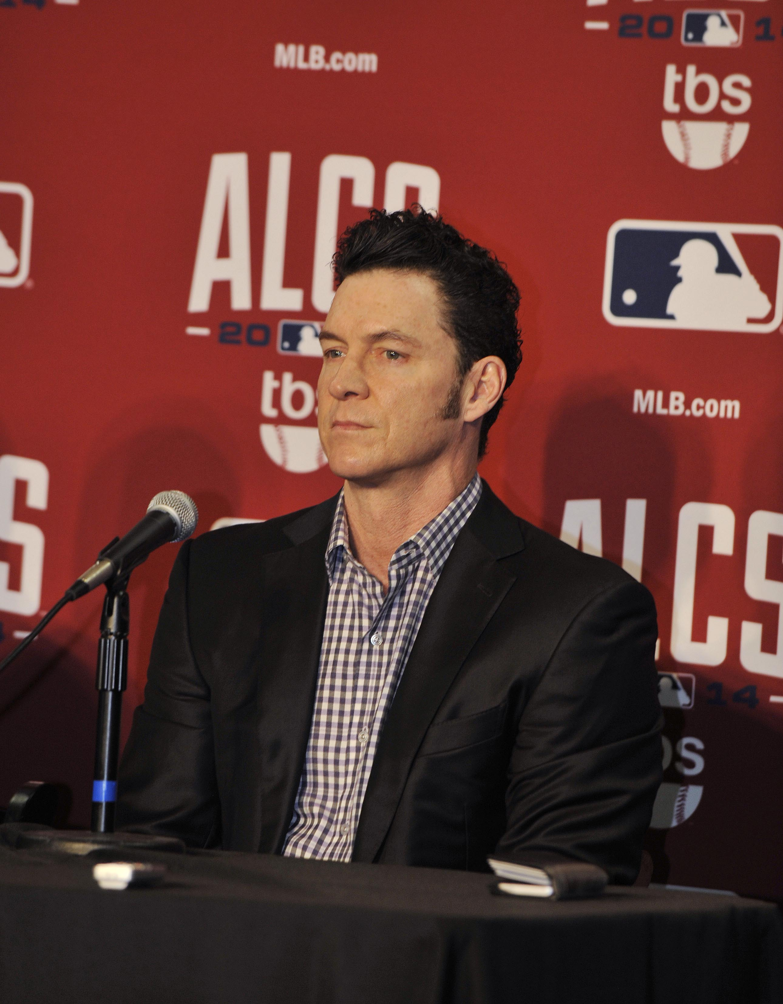 Brady Anderson was described as part of Ripken's posse, but he denies ever hazing anyone. (USA TODAY Sports)