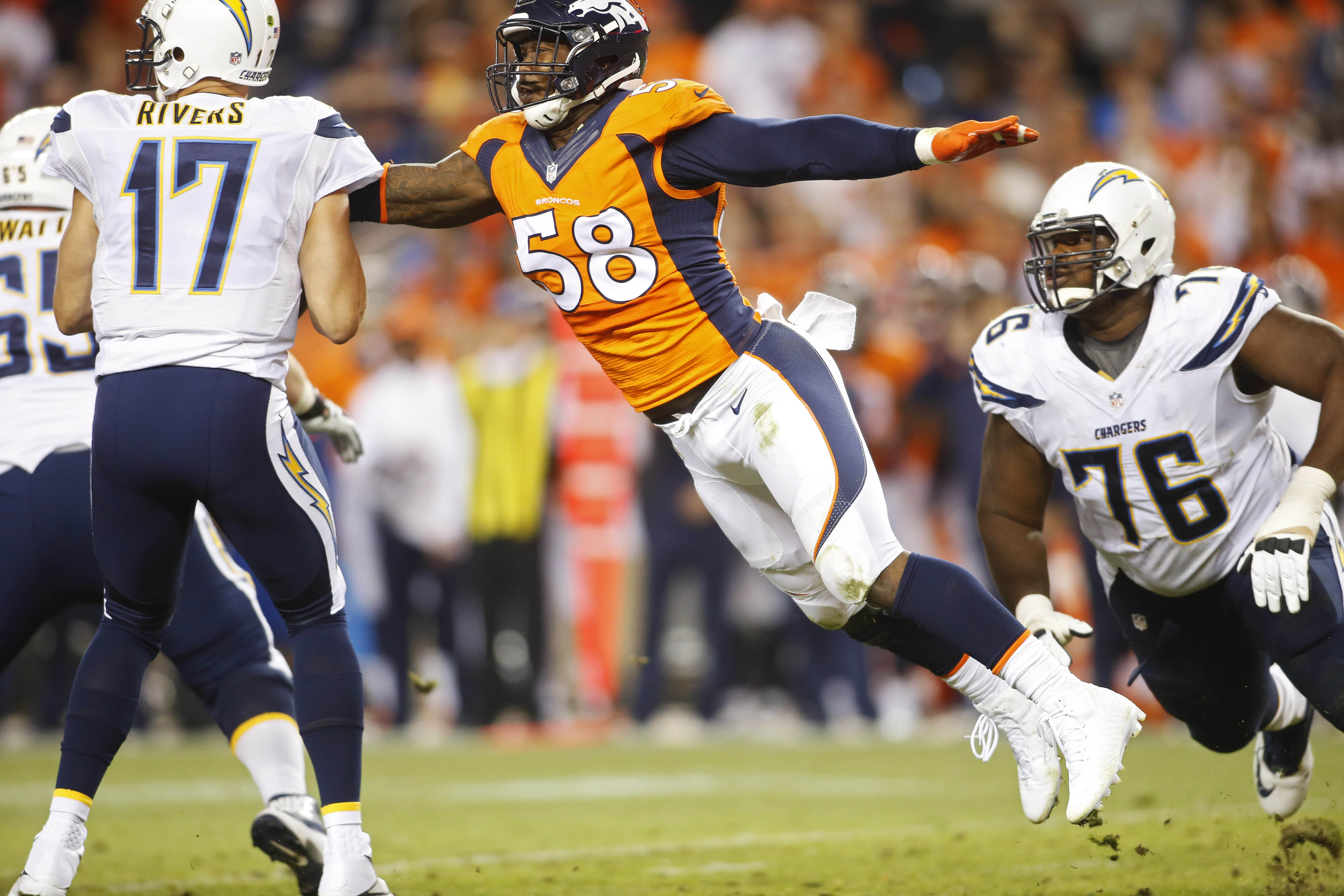 Denver Broncos, coming off an AFC title, are clearly better in …