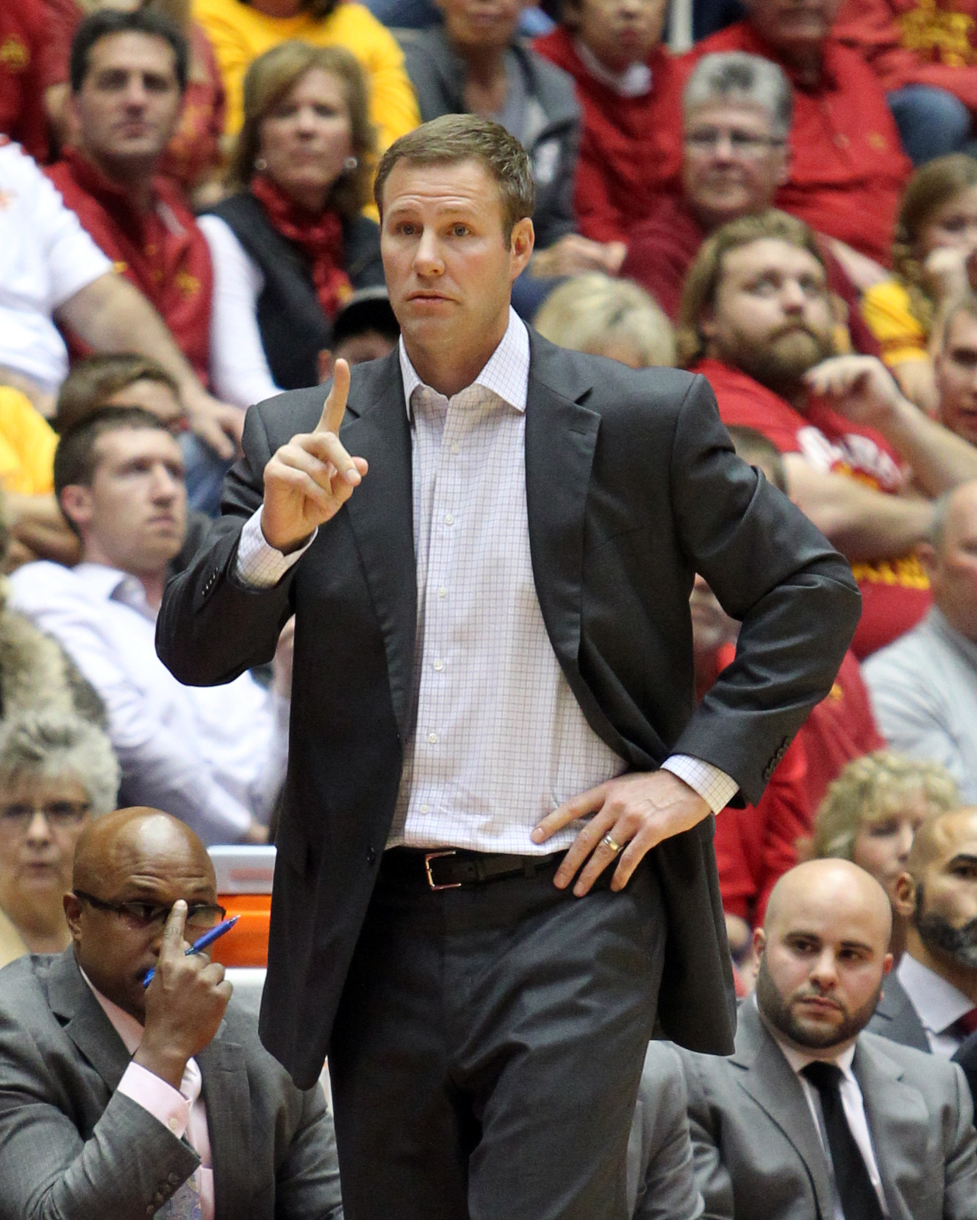 Fred Hoiberg (Reese Strickland-USA TODAY Sports)
