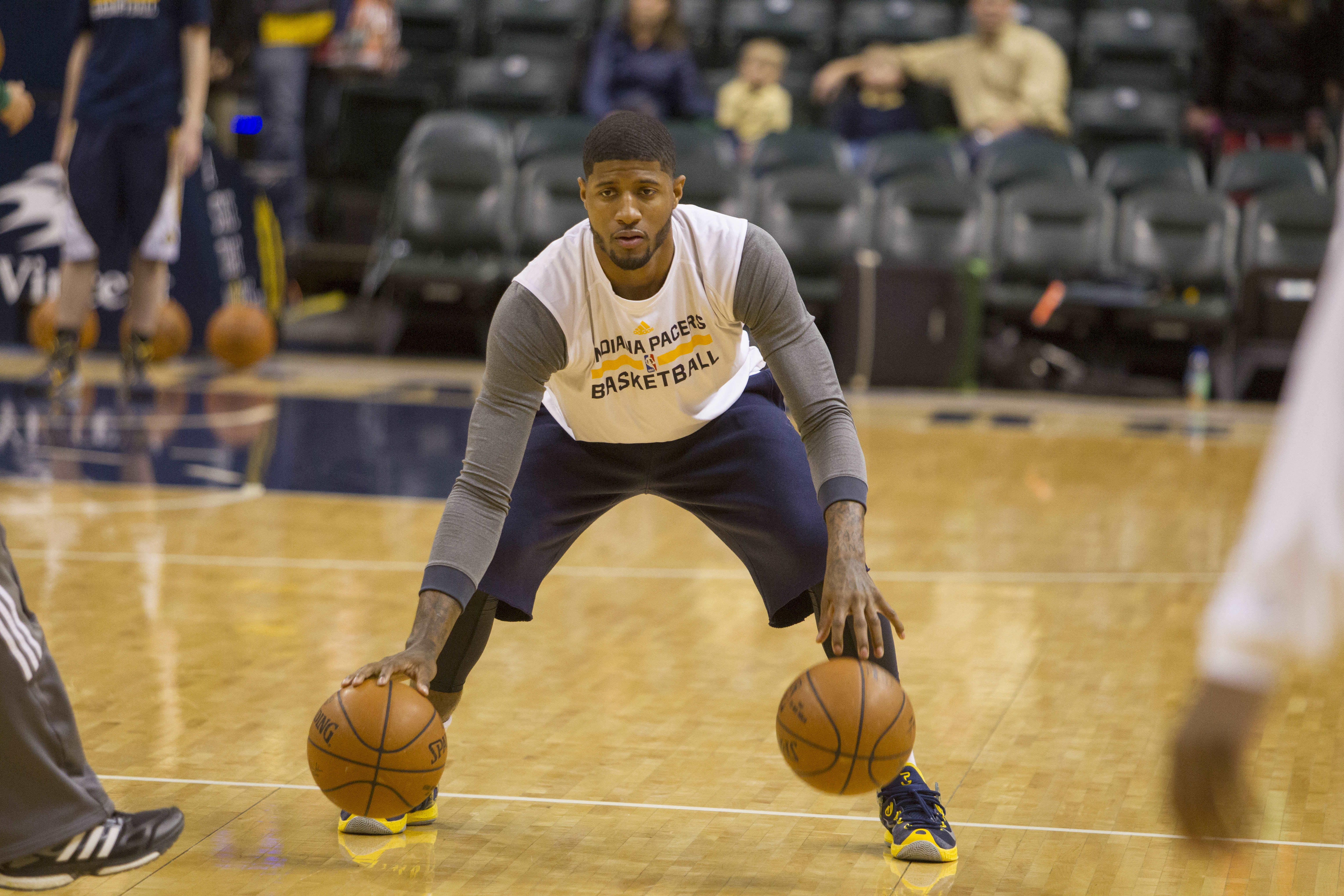 Paul George revisits leg injury: 'The second I saw my bone ... …