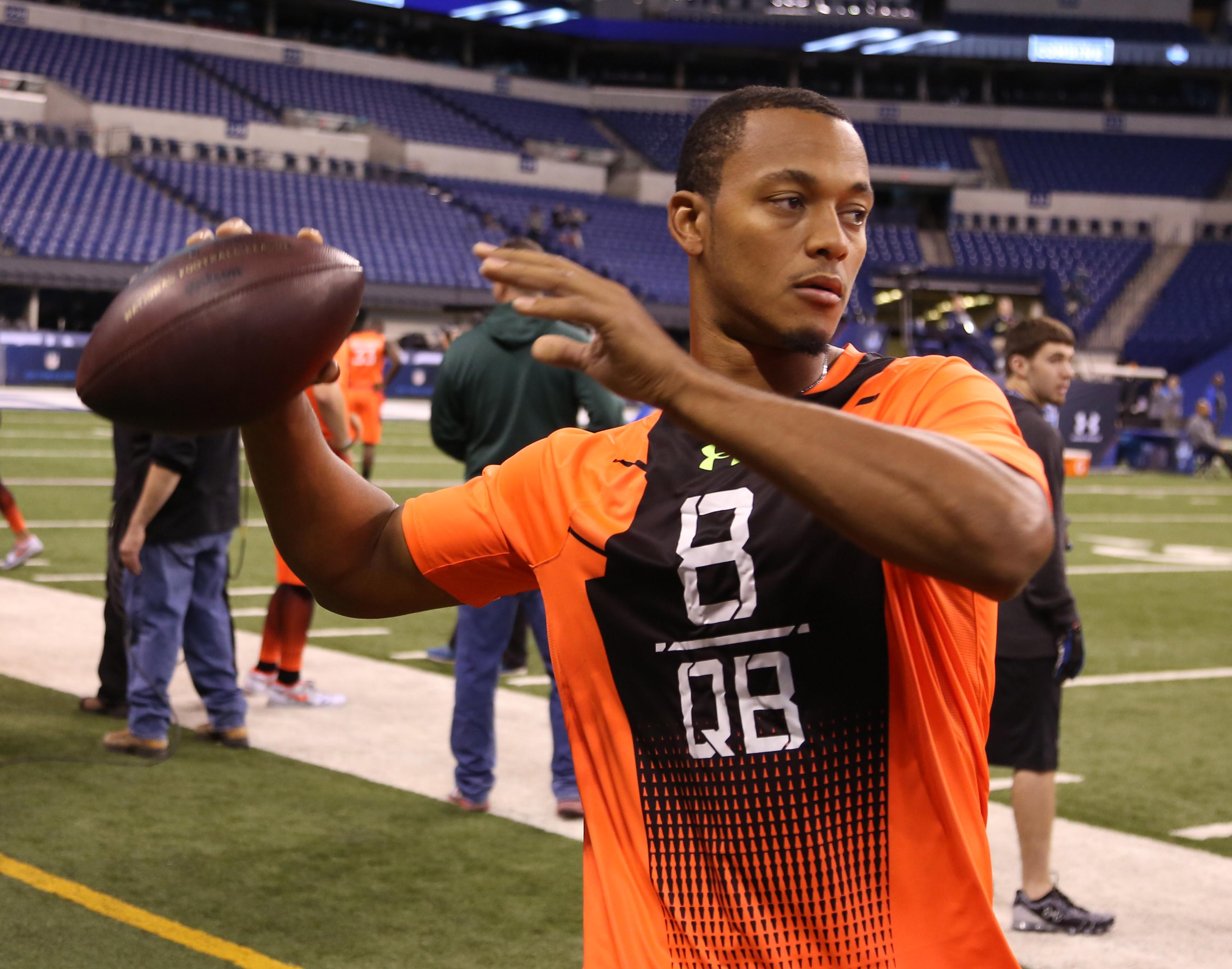 Will Brett Hundley be the third QB taken in the draft? (USA TODAY Sports)