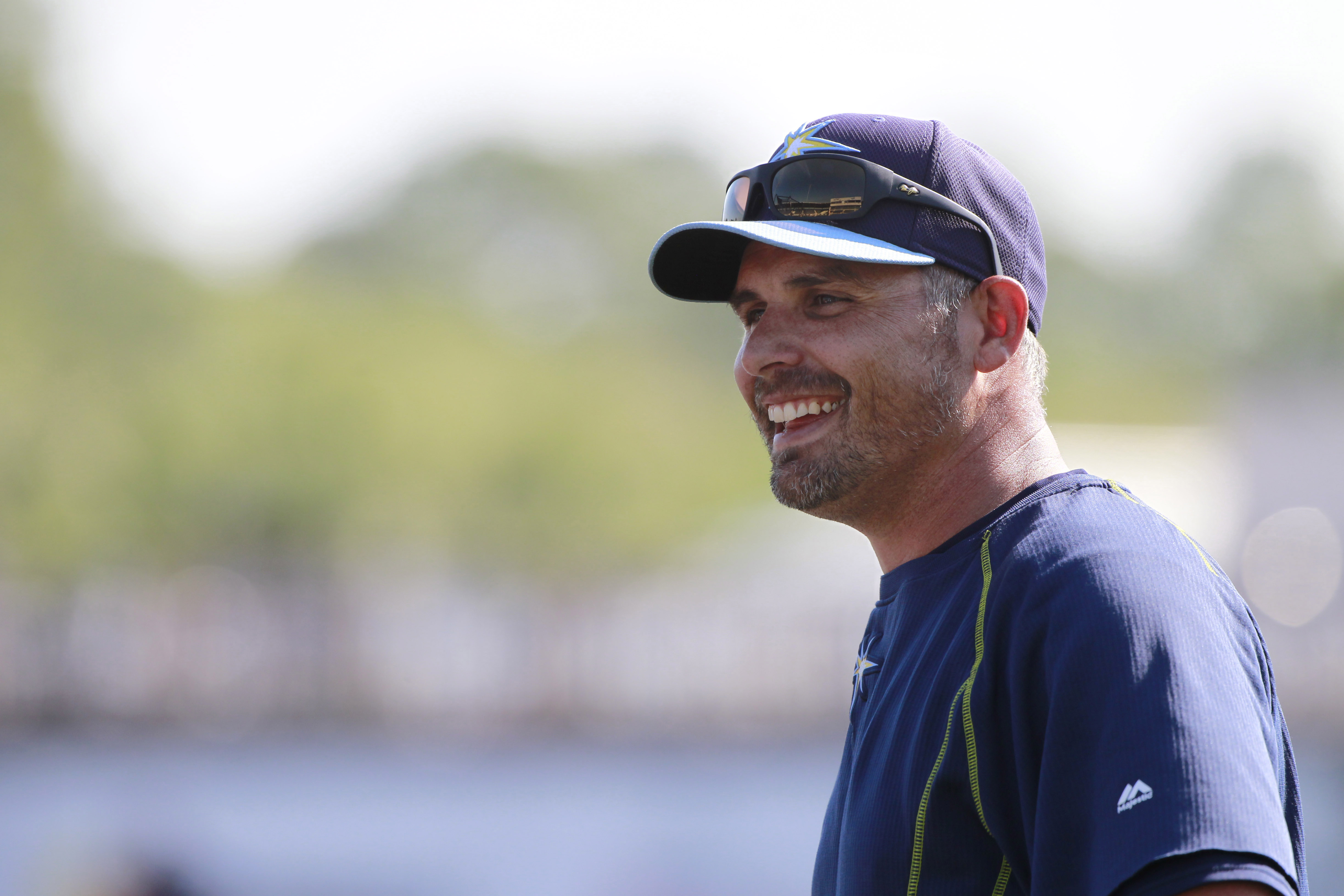 New Rays manager Kevin Cash. (USA TODAY Sports)