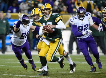 Can Aaron Rodgers lift the Packers back to an NFC North title? (Reuters)