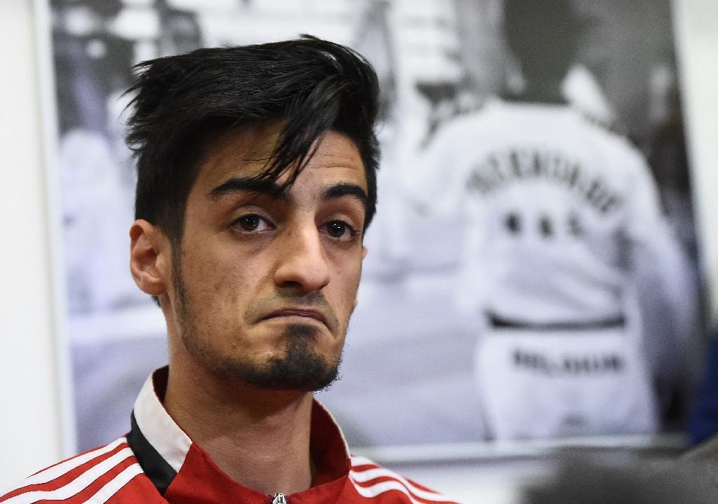 Belgian taekwondo athlete Mourad Laachraoui. (AFP)