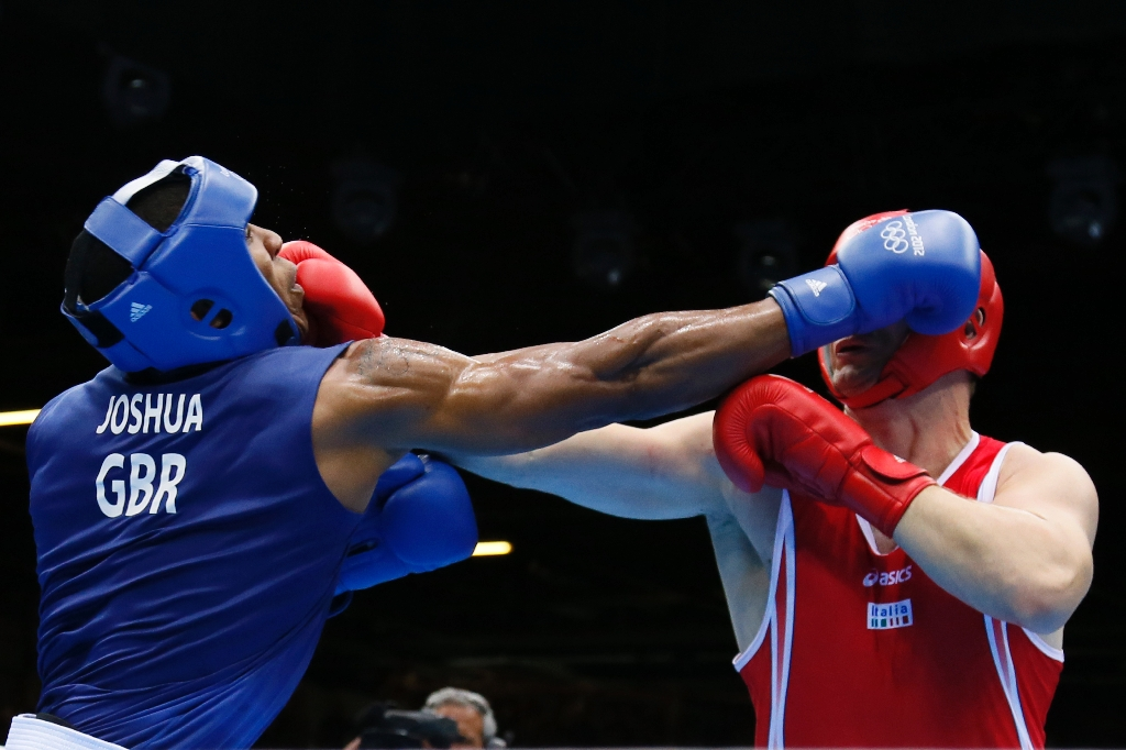 Professional boxers are headed to the Olympics. (AFP)
