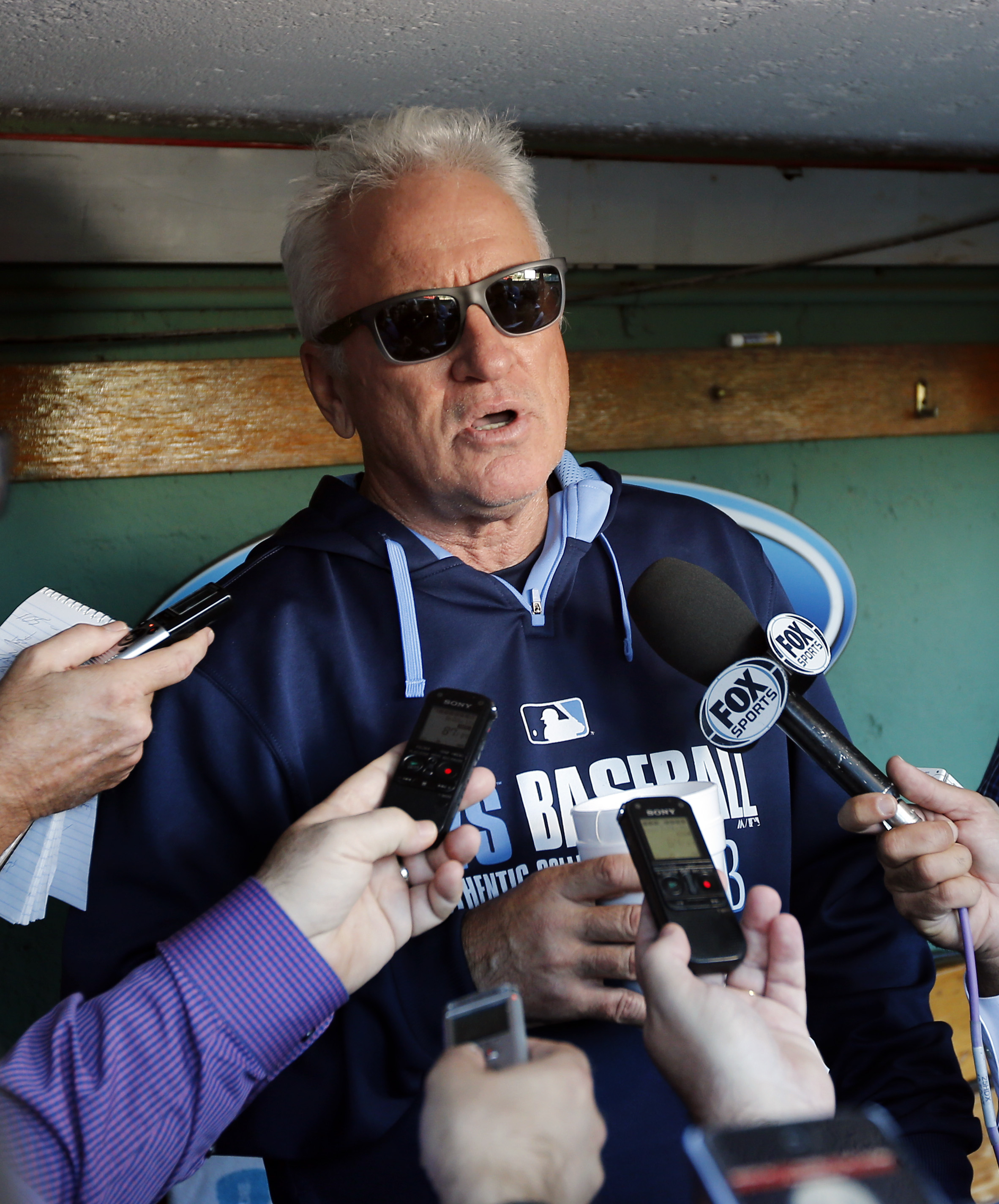 Joe Maddon won't manage Tampa Bay Rays in 2015