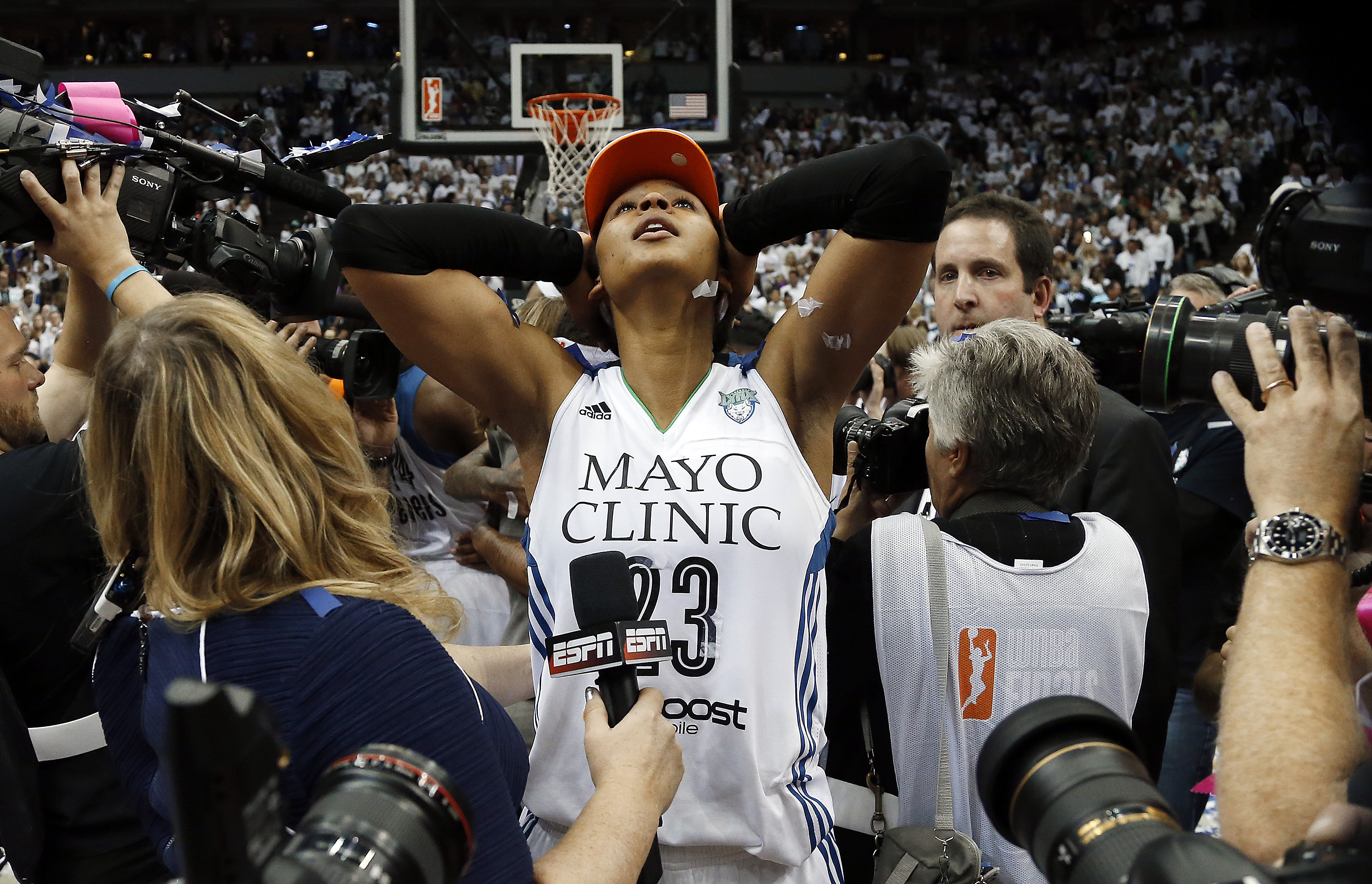 Maya Moore and the Lynx will try for their third WNBA title in four years after the Olympics. (AP Photo)
