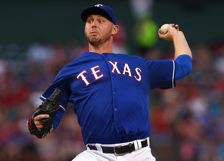 Now former Rangers left-hander Matt Harrison (Getty Images)