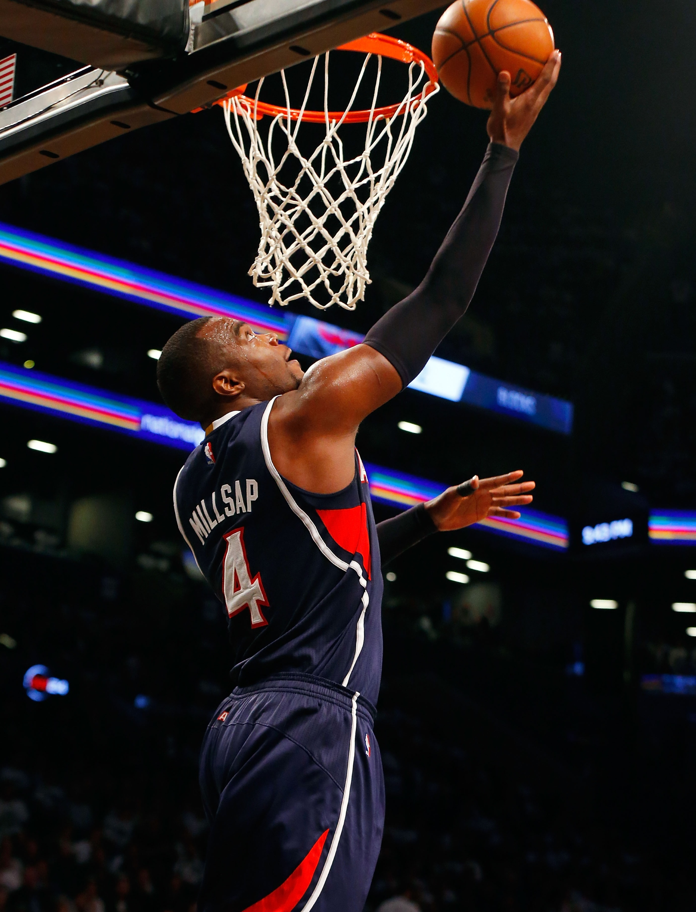 Hawks thump Nets in Game 6, advance to face Wizards