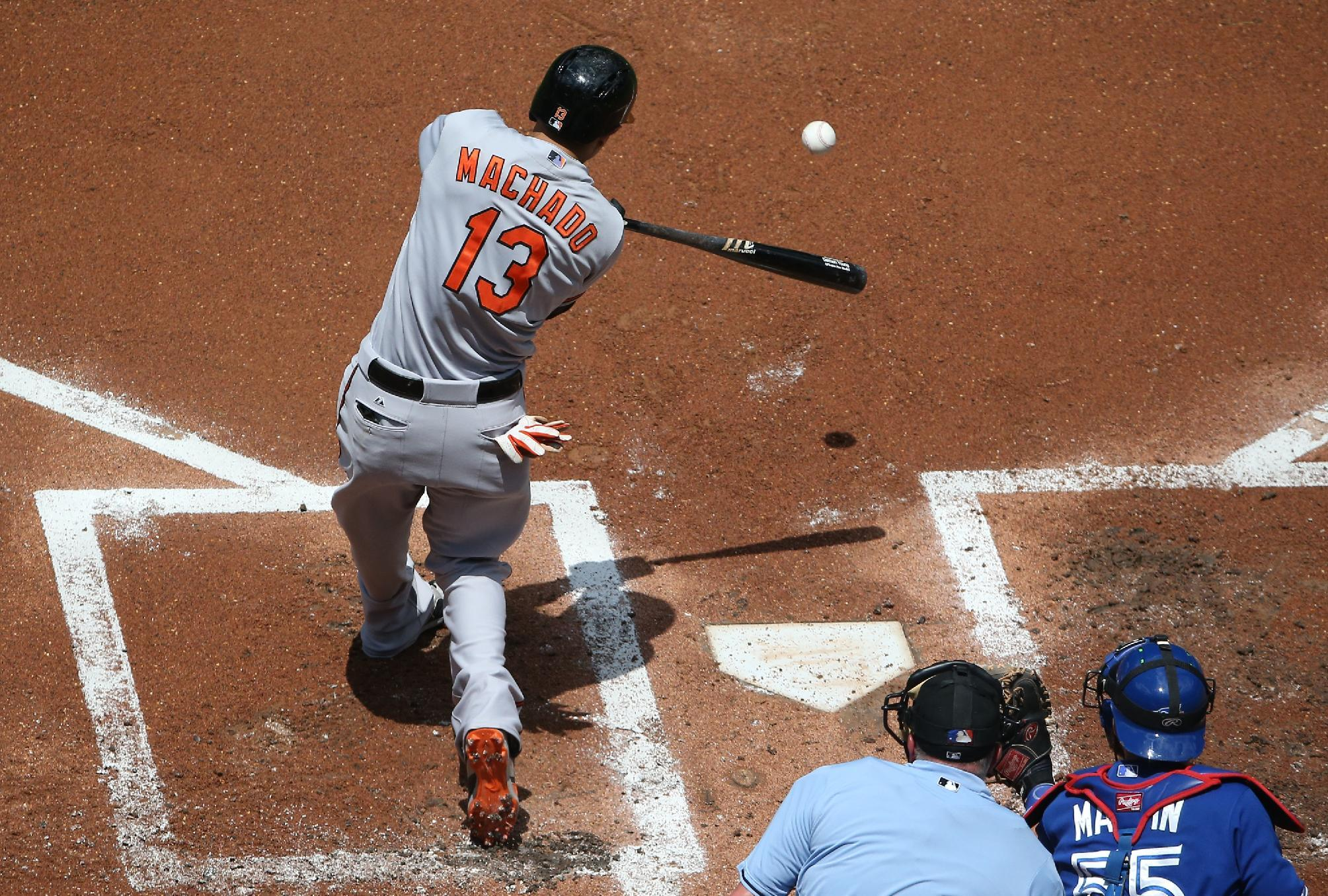 At age 22, Manny Machado is emerging as one of MLB's best at the hot corner. (Getty)