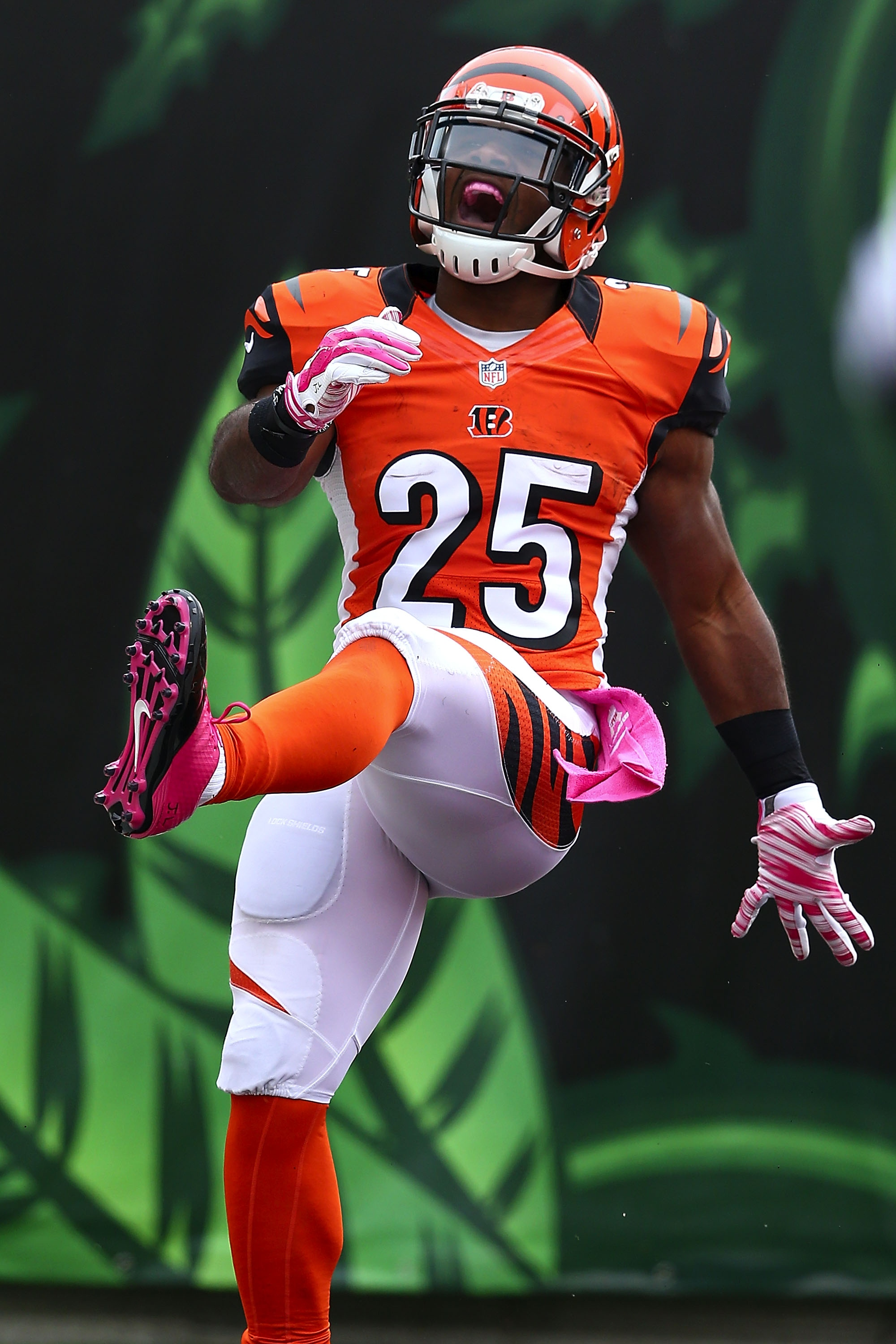 Giovani Bernard, post-TD (Photo by Andy Lyons/Getty Images)