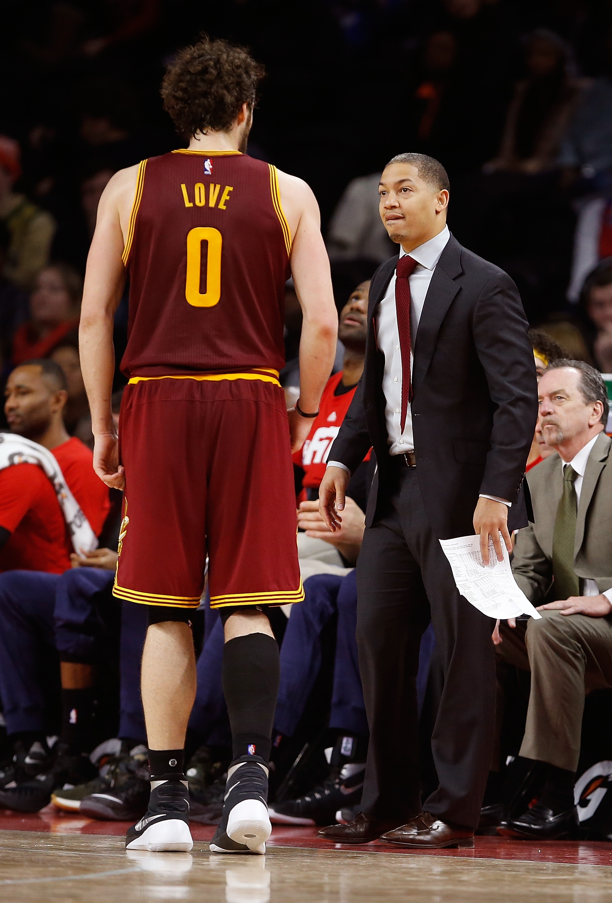 Ty Lue's coaching coup: Reminding Kevin Love he's one 'bad MFer…