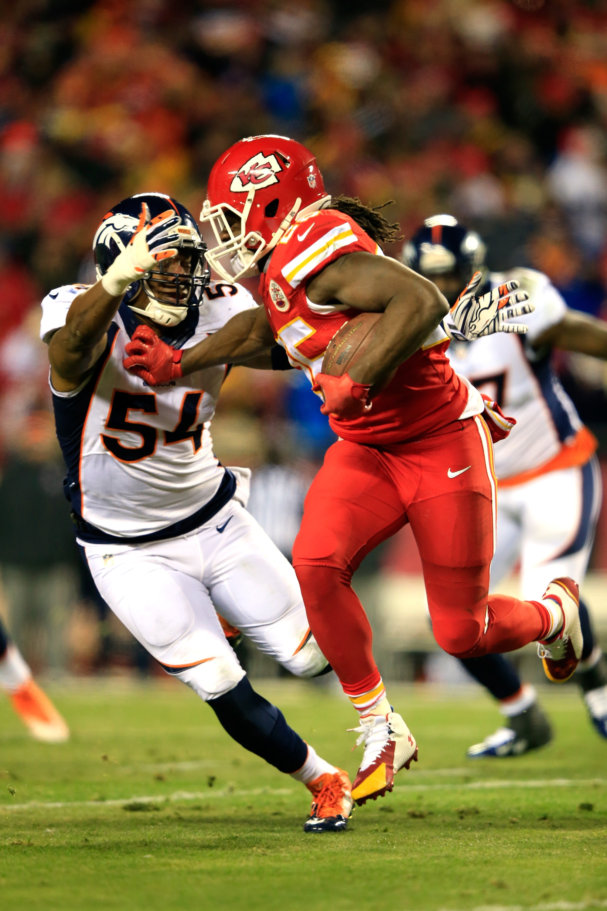 Jamaal Charles (Photo by Jamie Squire/Getty Images)