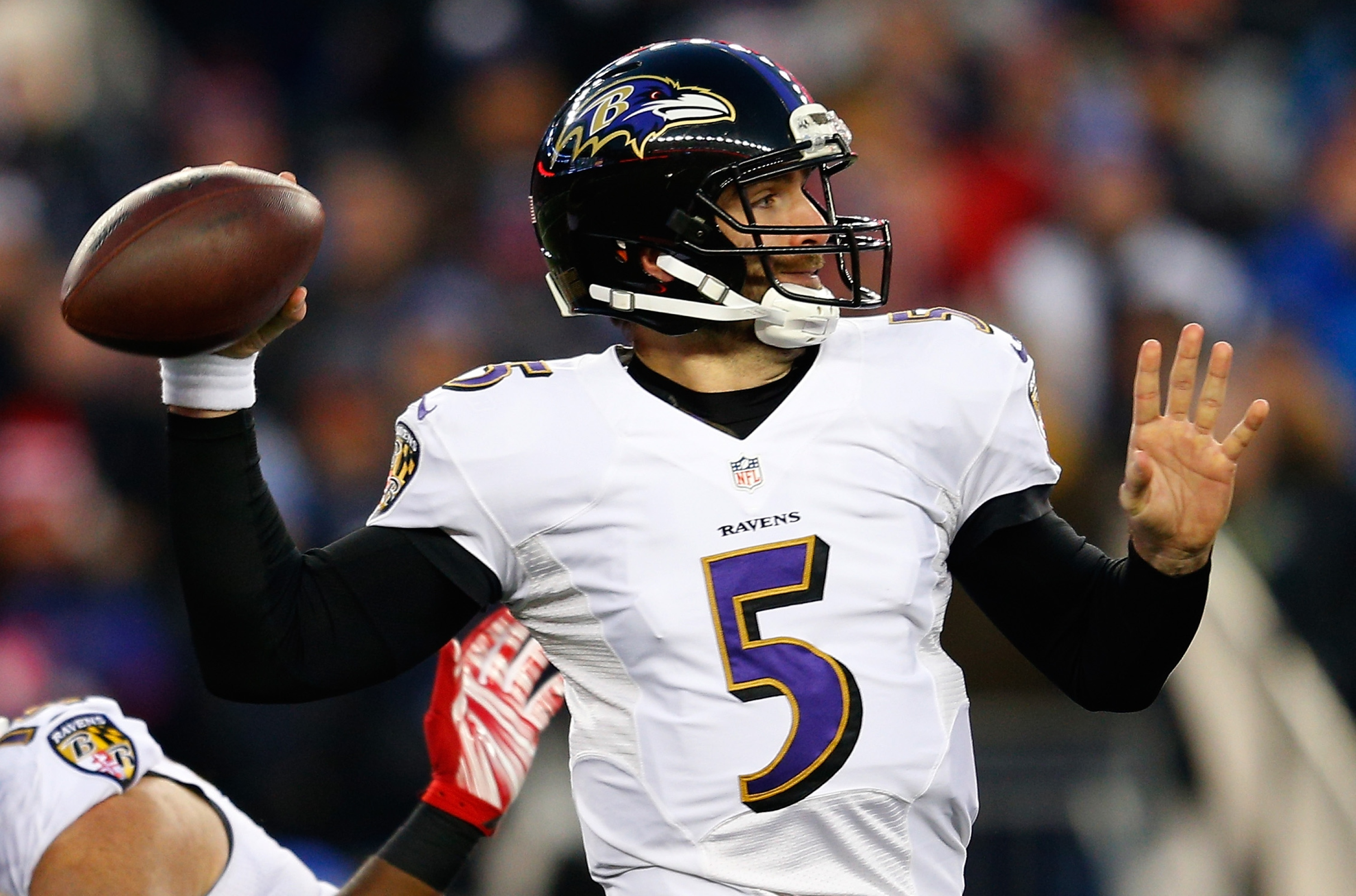 Is this the year Flacco finally uncorks? (Getty)
