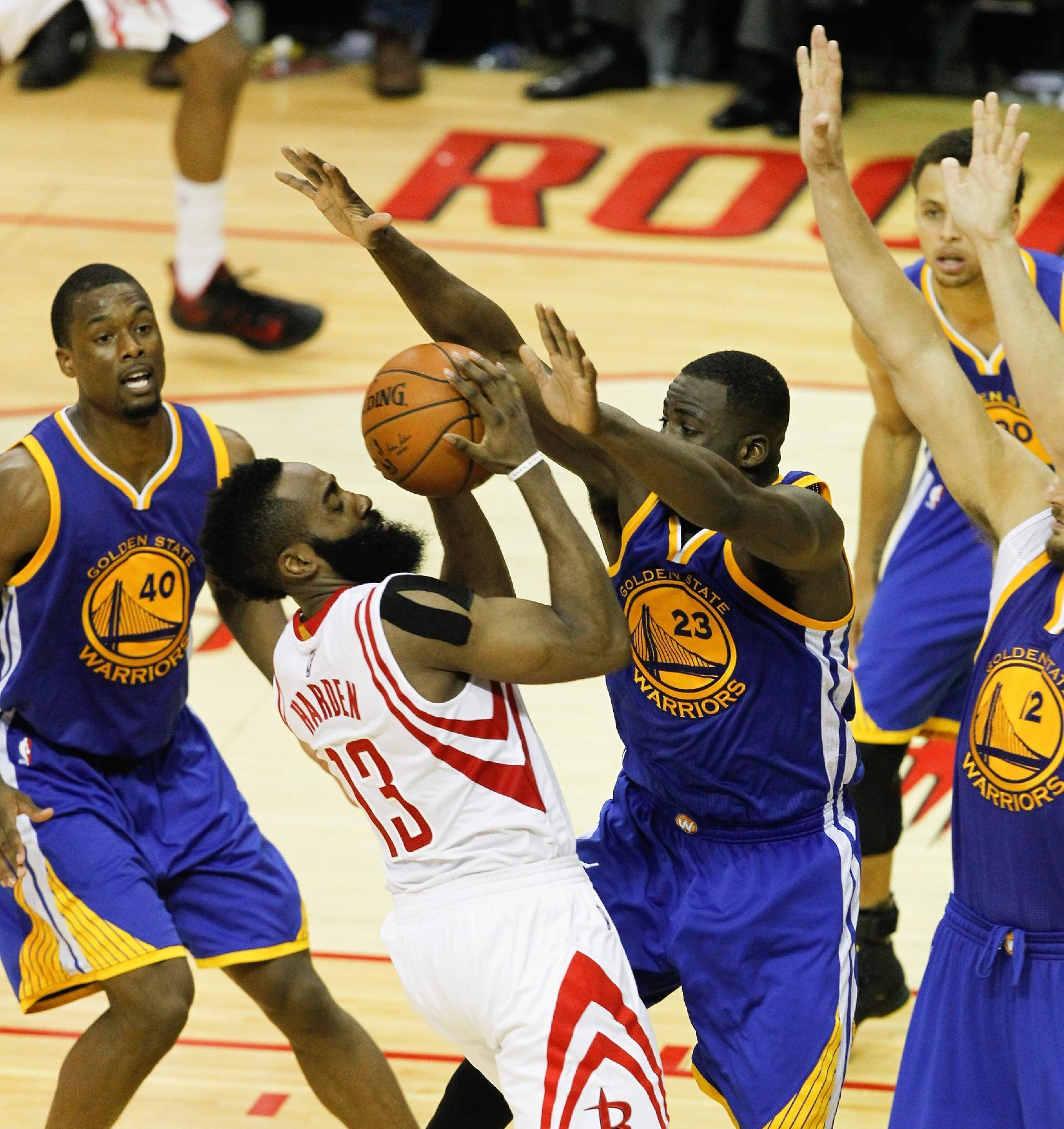 Looking ahead to Game 4: Warriors at Rockets