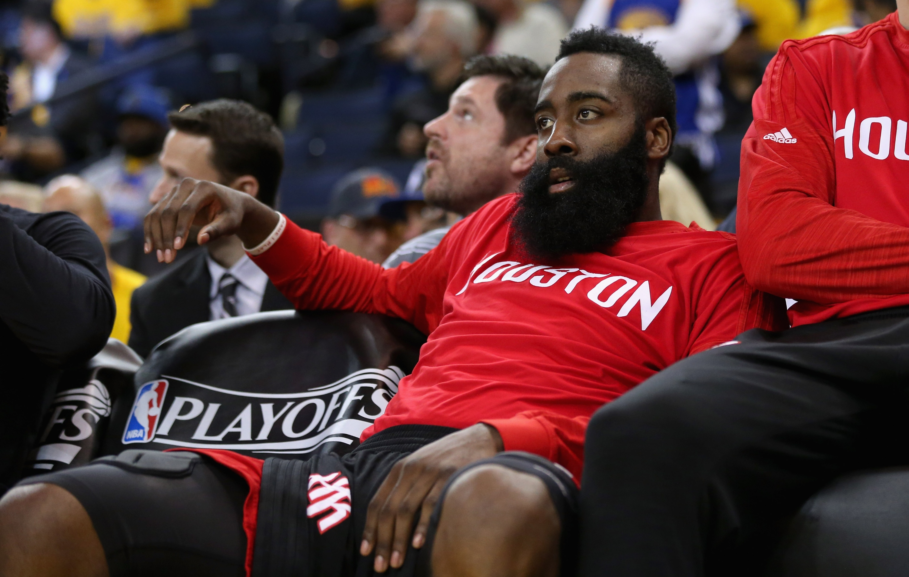 James Harden doesn't know why he didn't make the All-NBA team