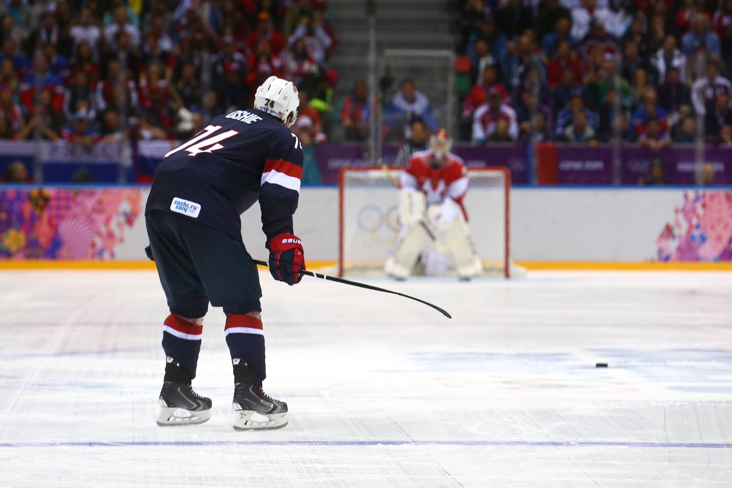 T.J. Oshie And His Legendary Olympic Shootout Vs. Russia, One Year Later