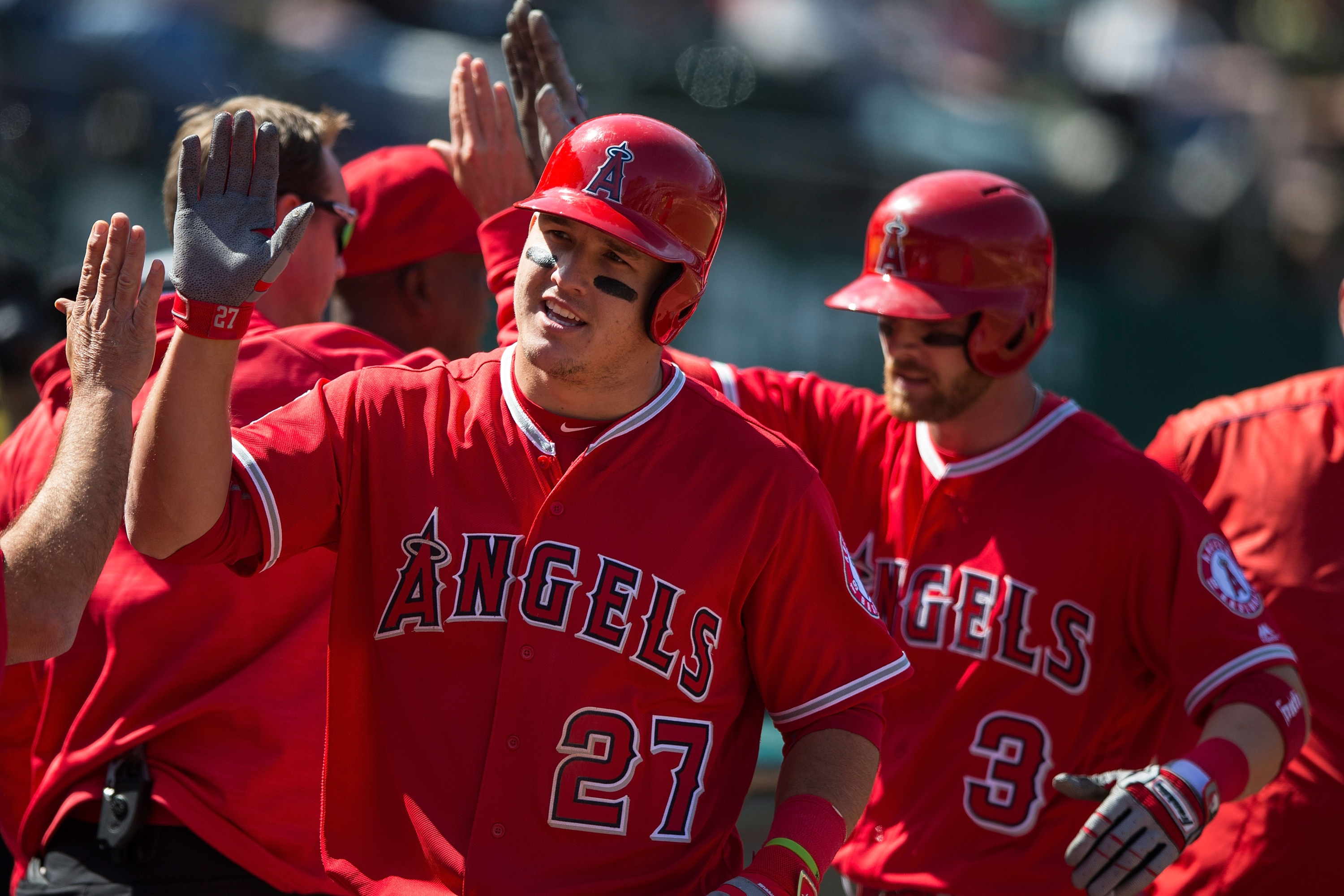 Mike Trout has taken on a second job in the Angels organization