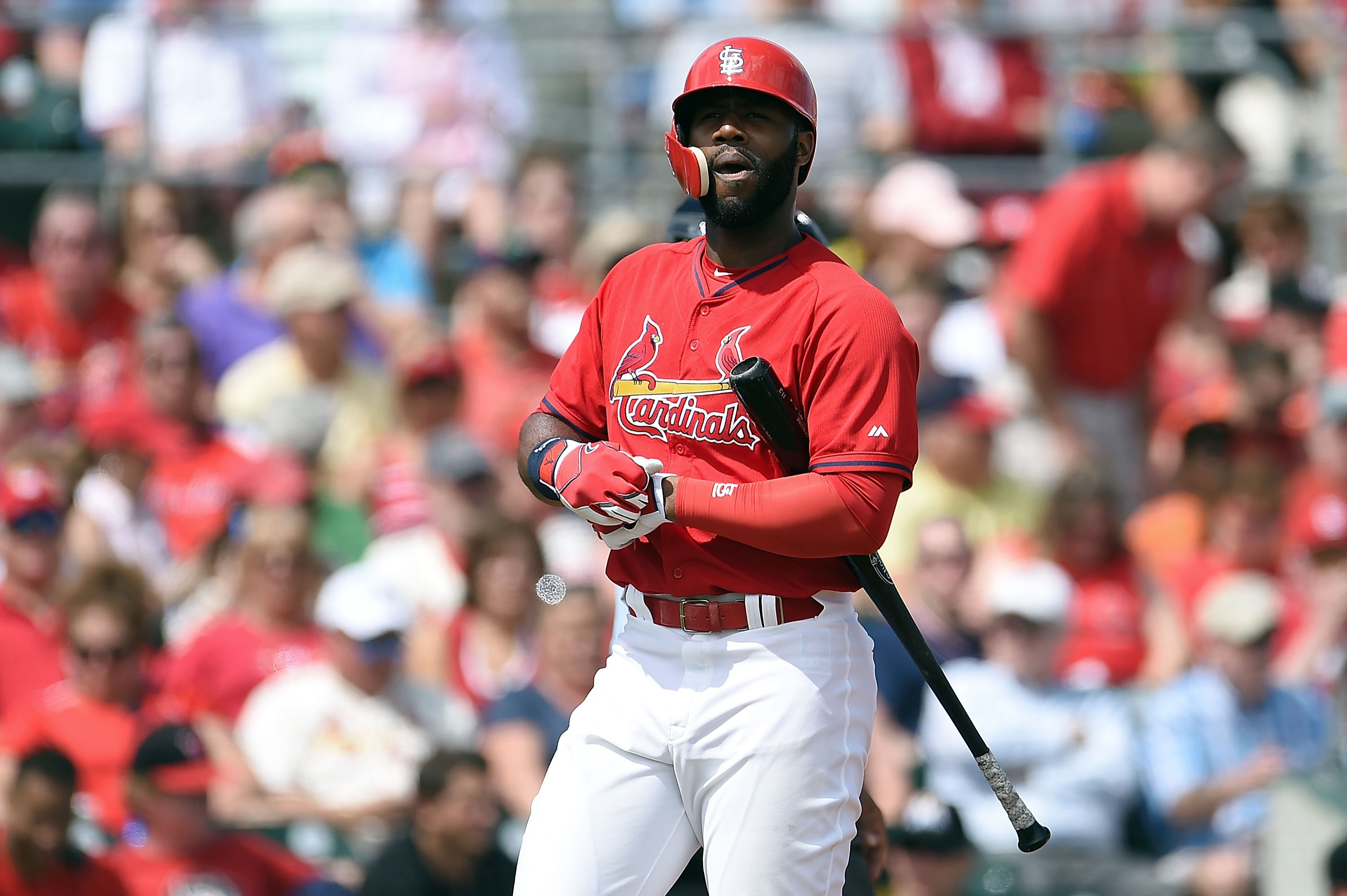 Jason Heyward is looking to breath new life into his MLB career in St. Louis.  (Getty)
