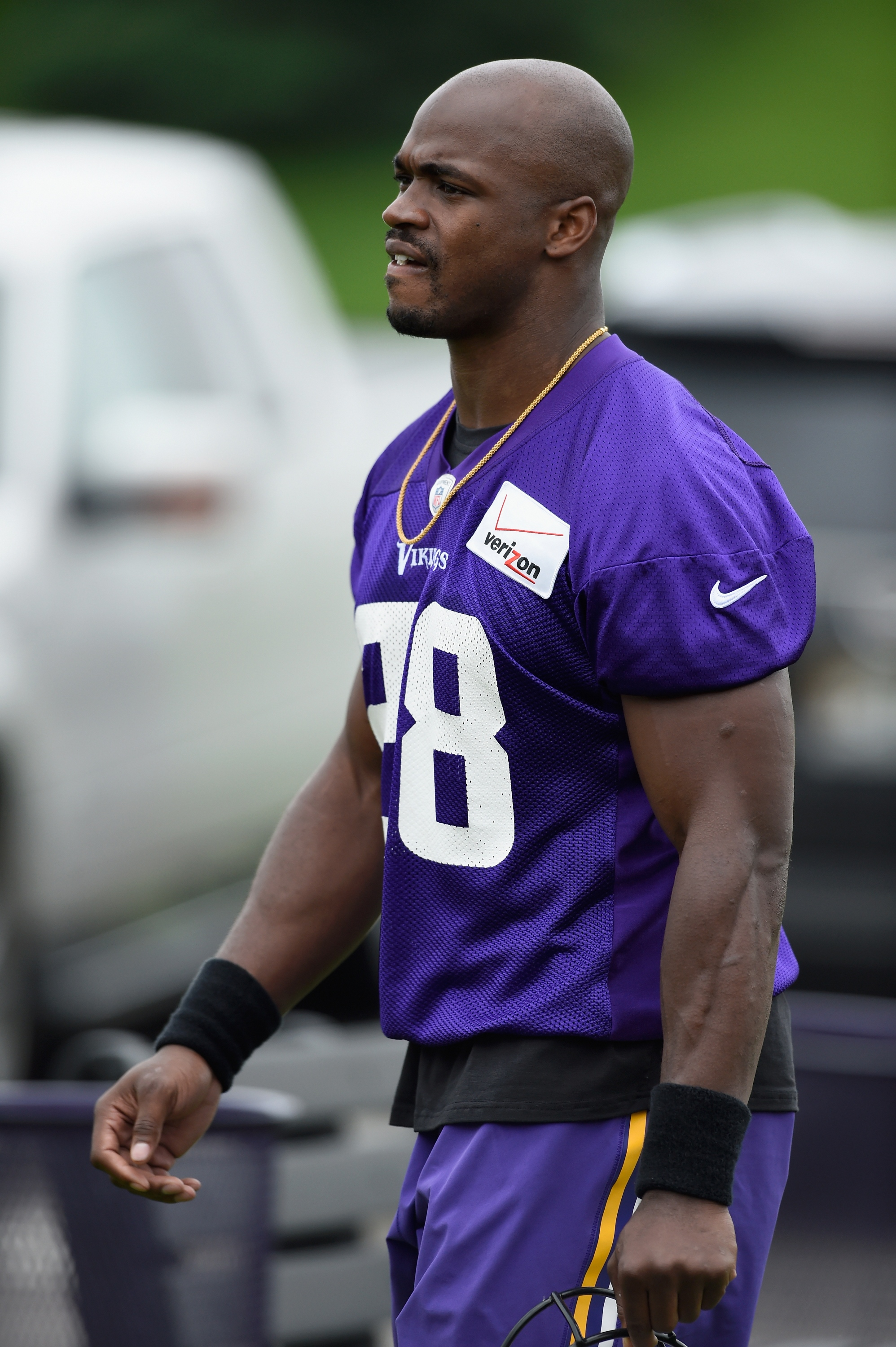 Adrian Peterson (Photo by Hannah Foslien/Getty Images)