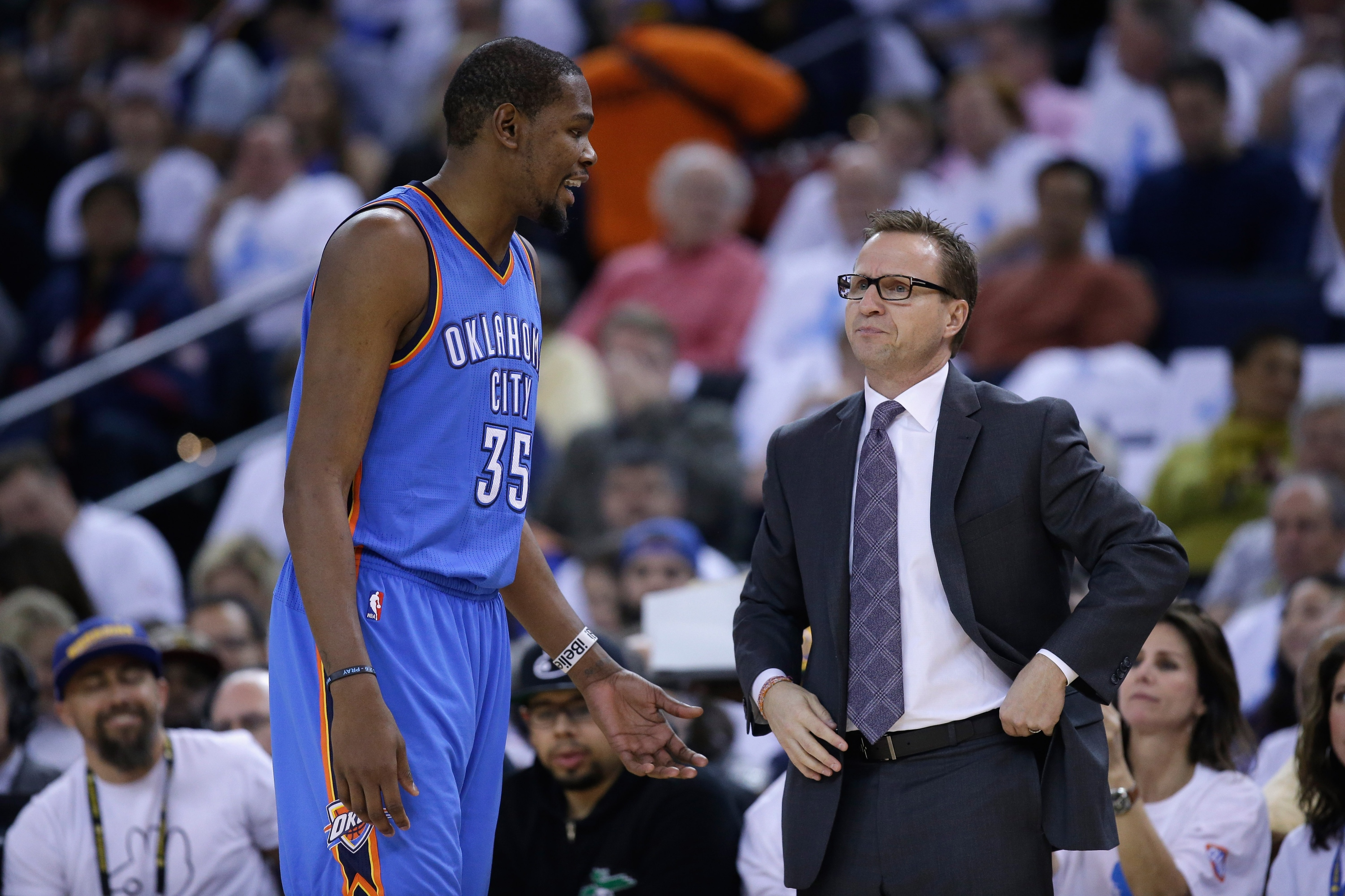 Kevin Durant bids fond farewell to Scott Brooks, but supports c…