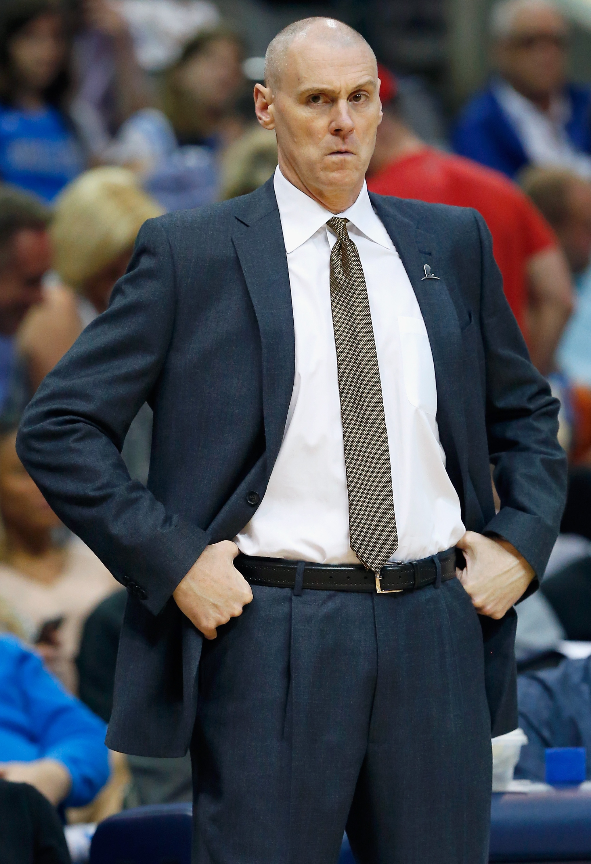 Rick Carlisle has some tough problems to solve. (Tom Pennington/Getty Images)