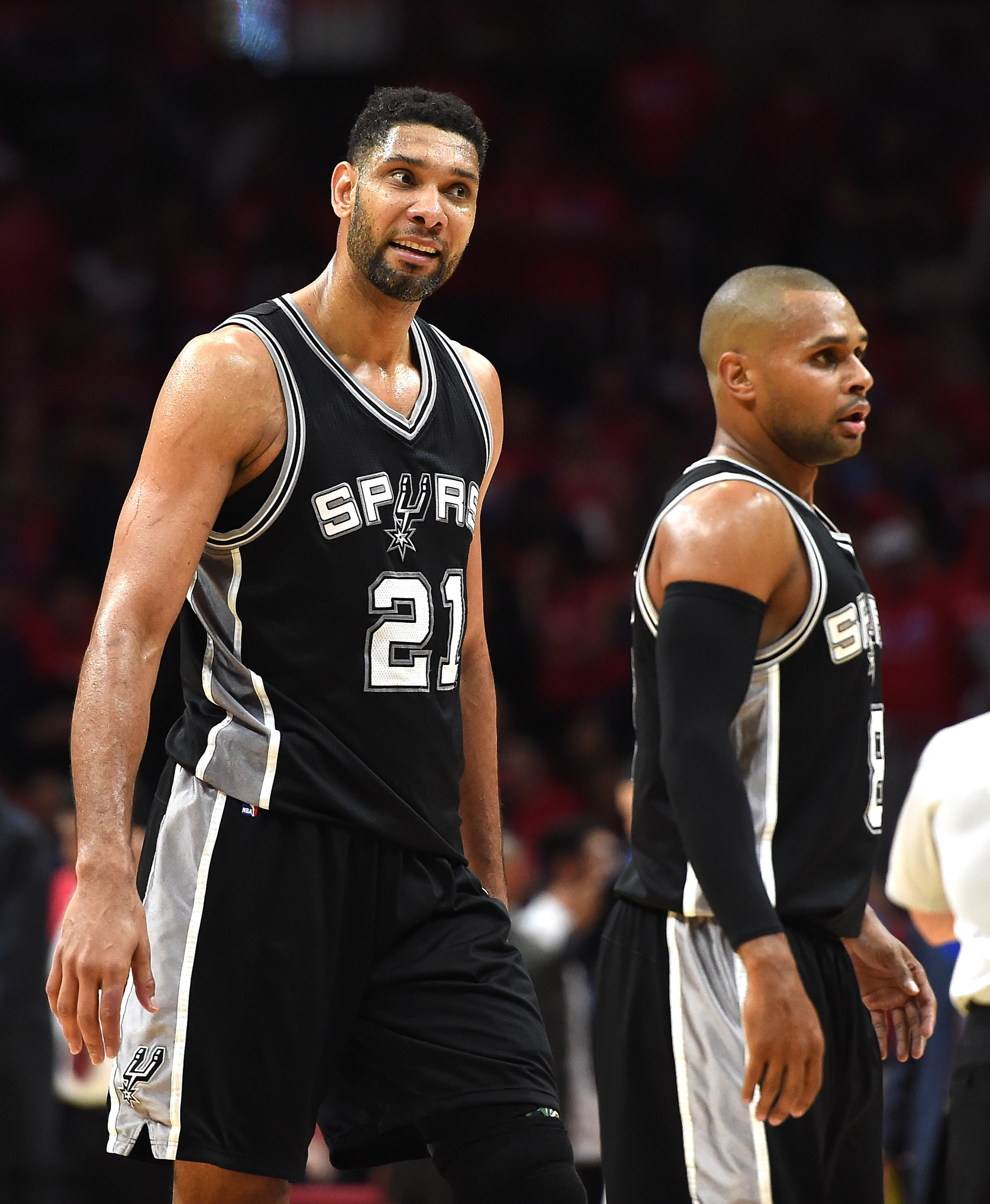Tim Duncan had a game with no rebounds for the first time ever